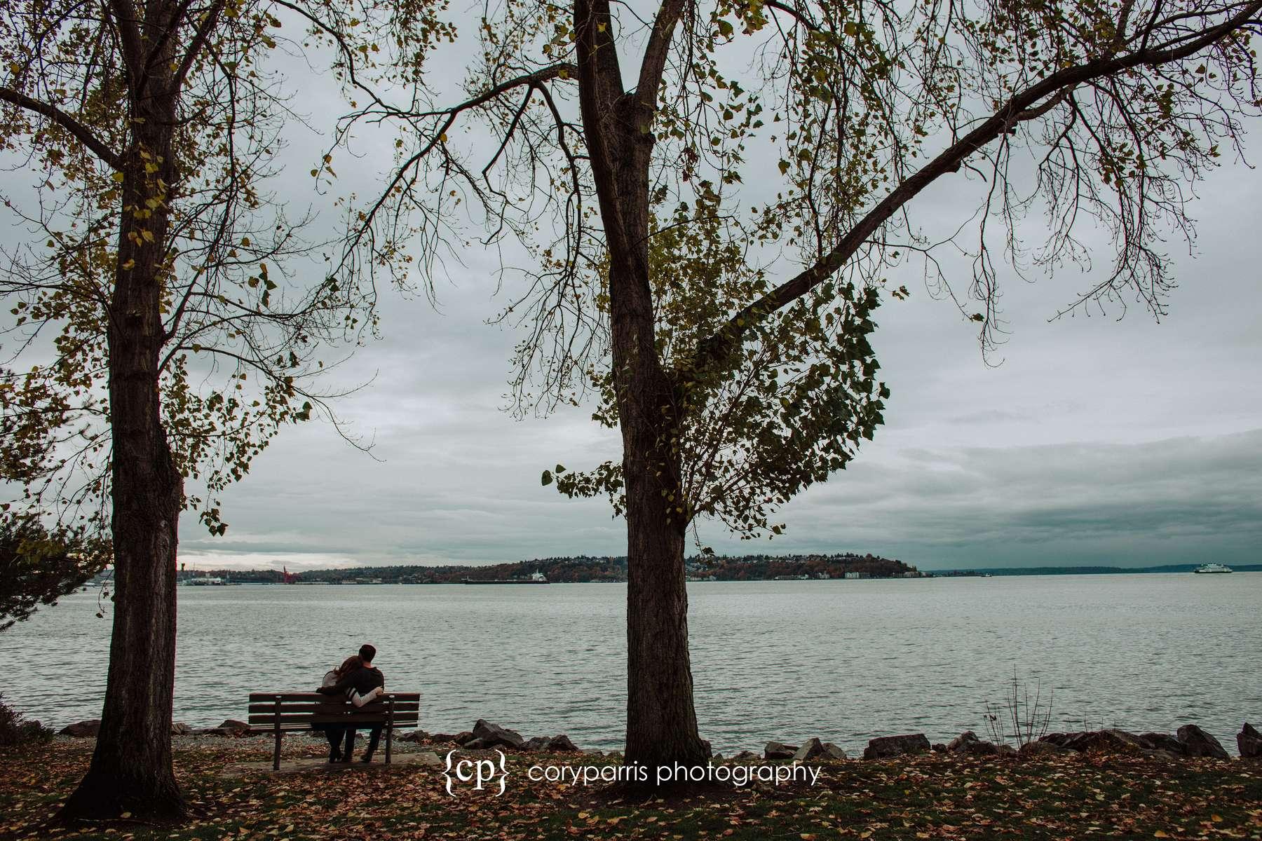Timeless engagement portrait seattle photography