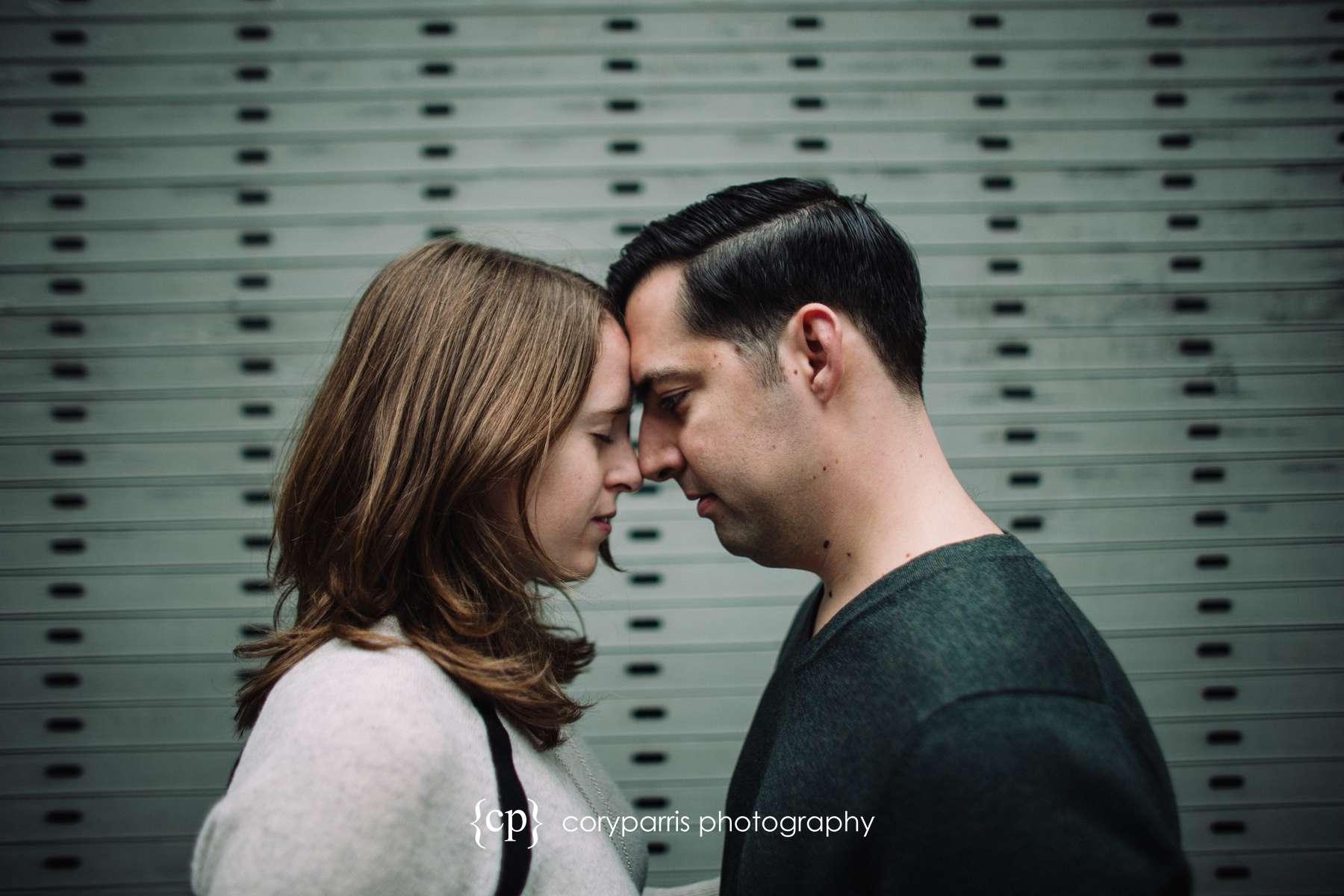 Seattle engagement portrait photography