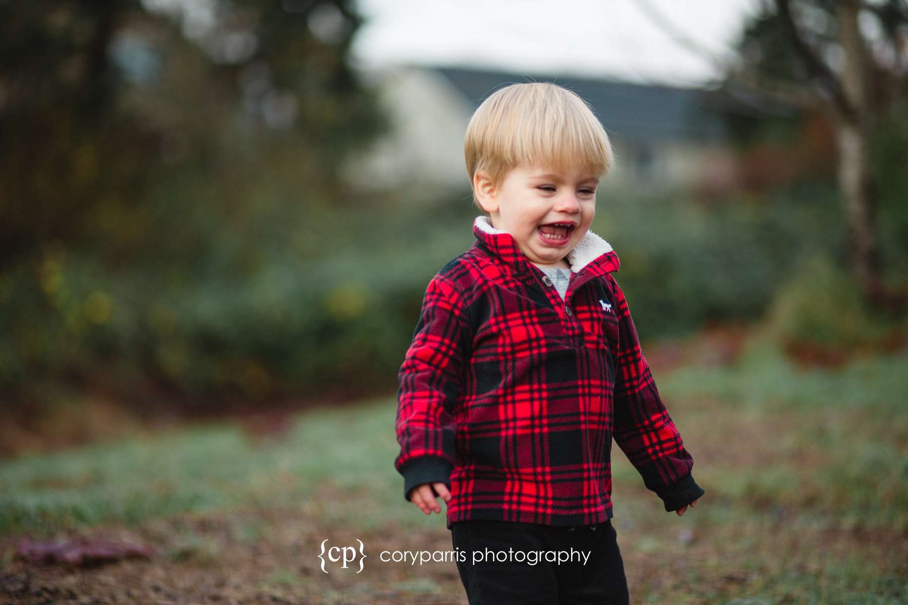 Laughing kid portrait Bothell