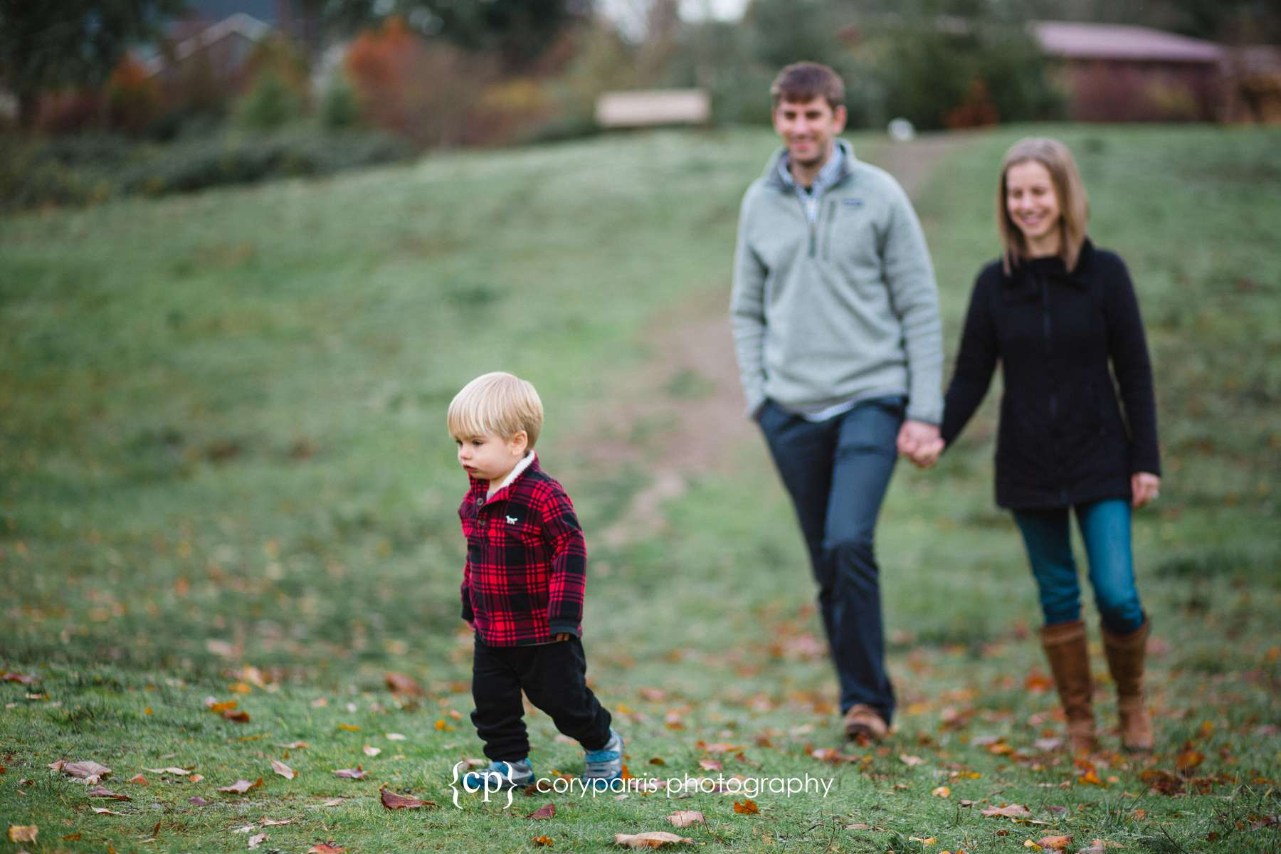 Bothell Family portraits in the Winter