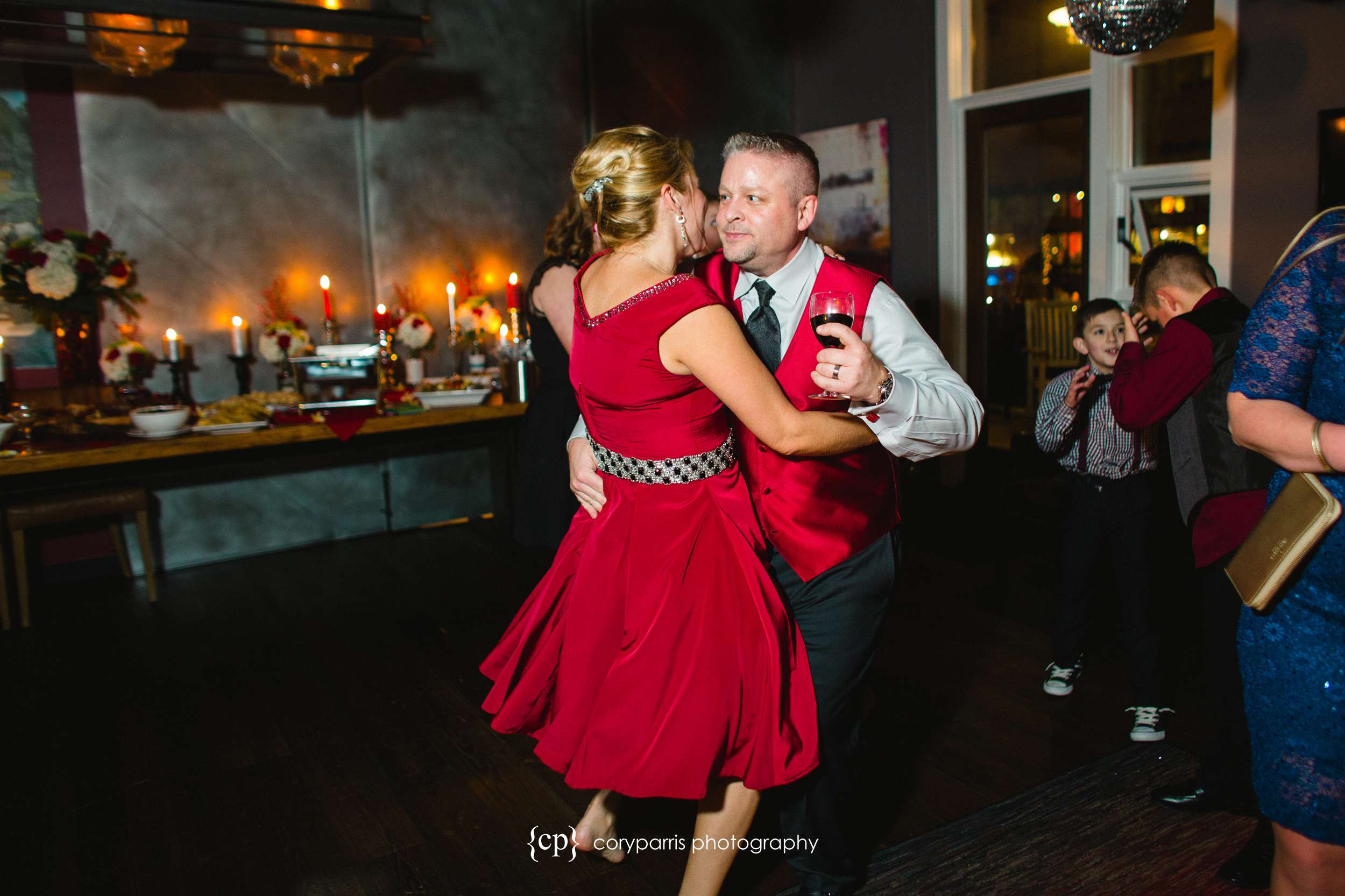Dance for Seattle wedding