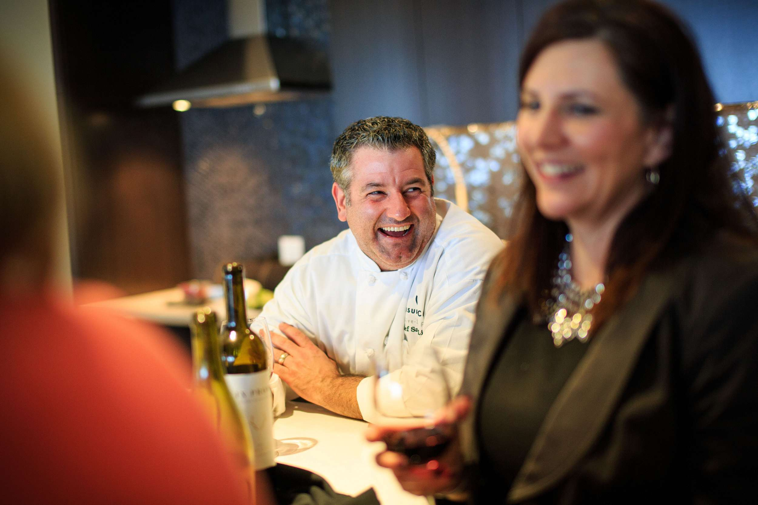 chef laughing corporate lifestyle photographer