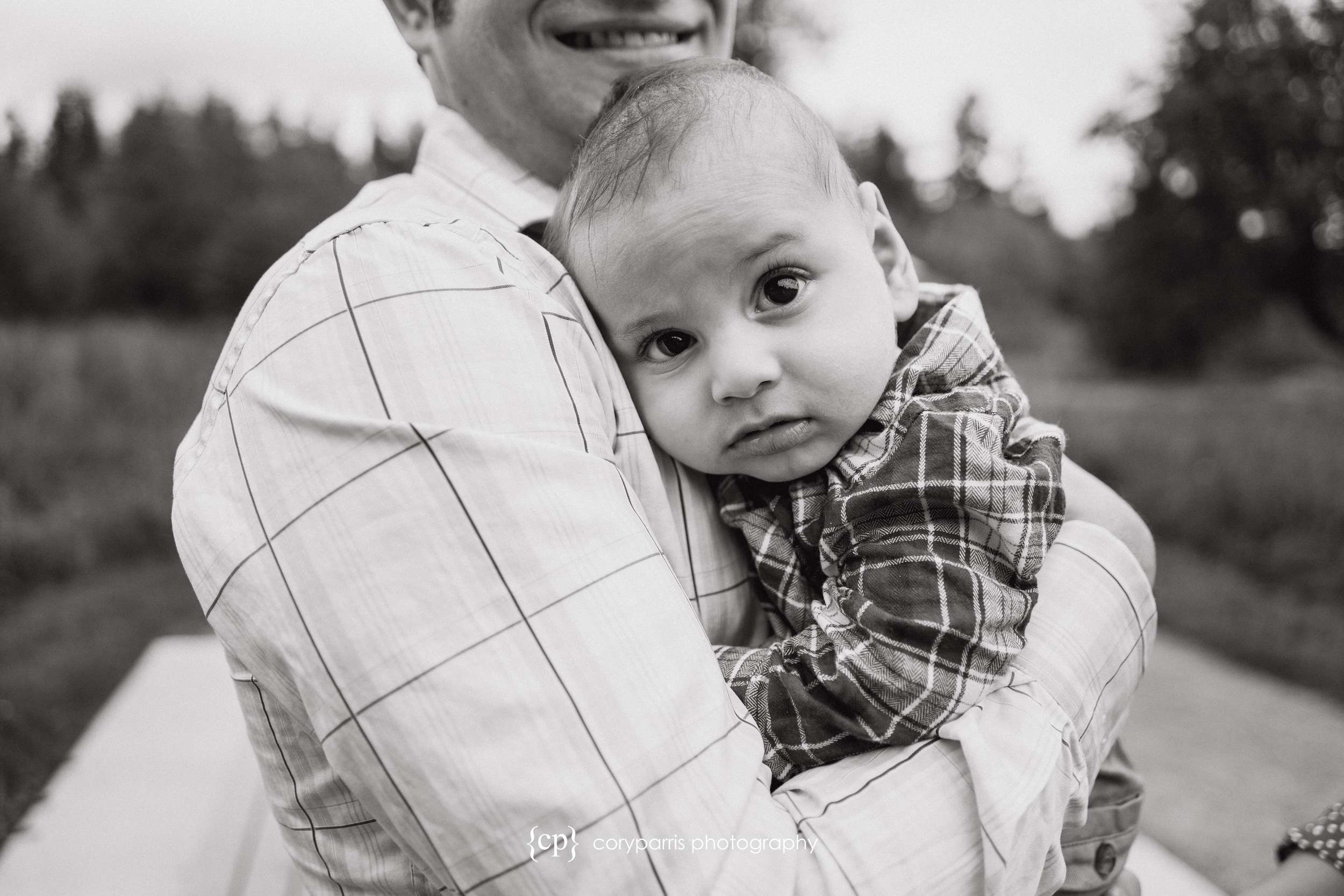 Such a cute little man! The S family portraits at Evans Creek Preserve