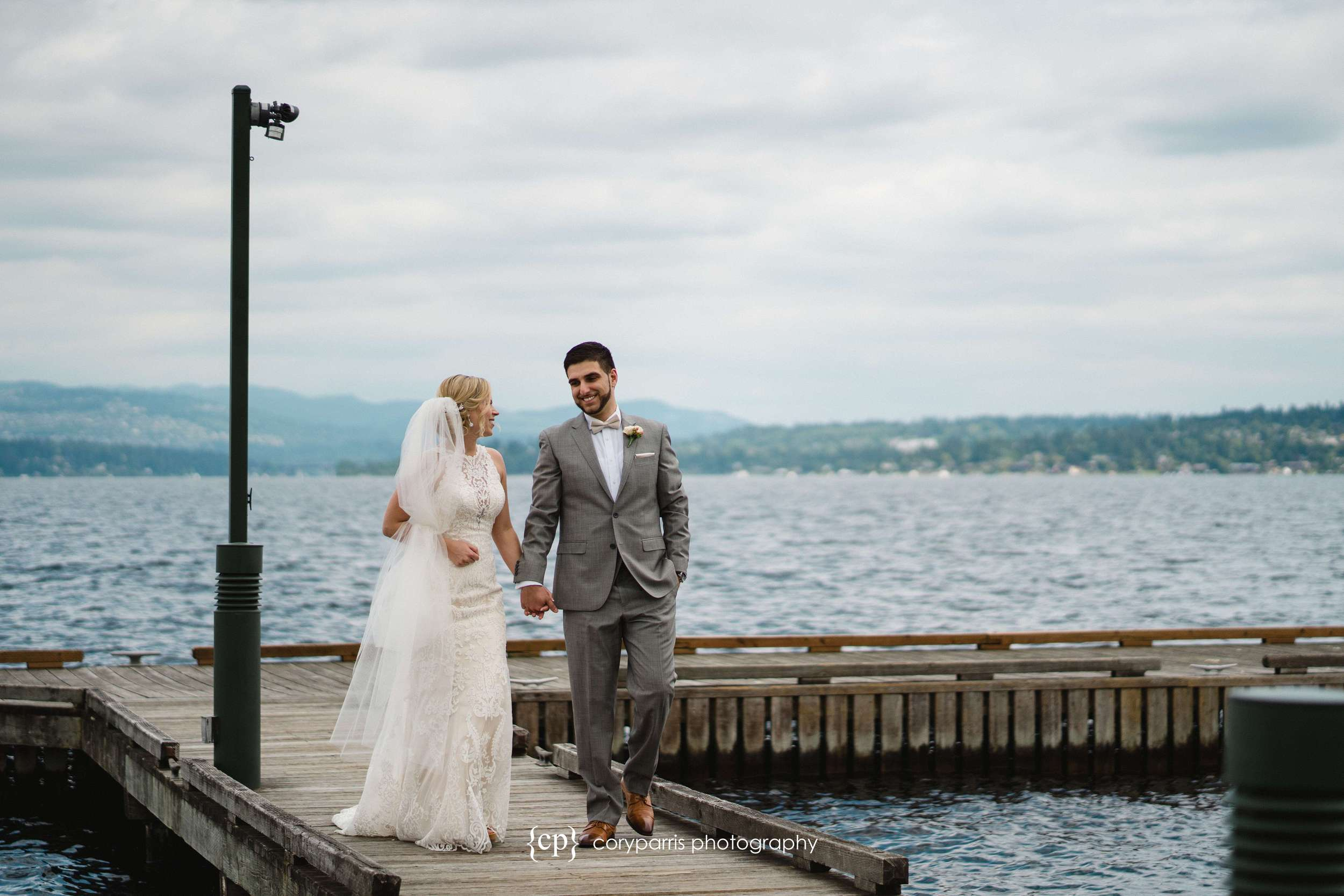 Lacey & Payam's wedding at the Seattle Tennis Club!