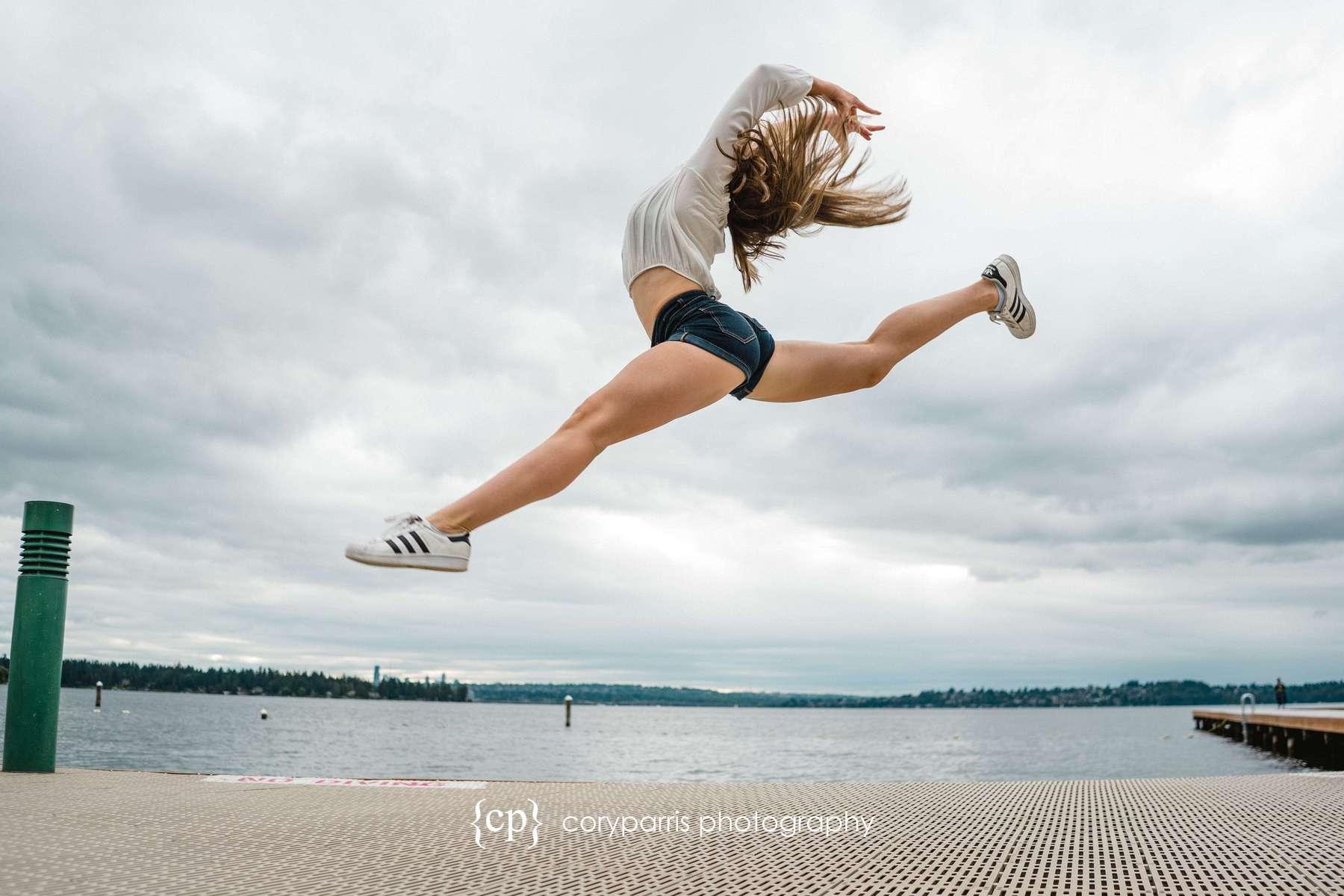 Gymnast portraits in Kirkland