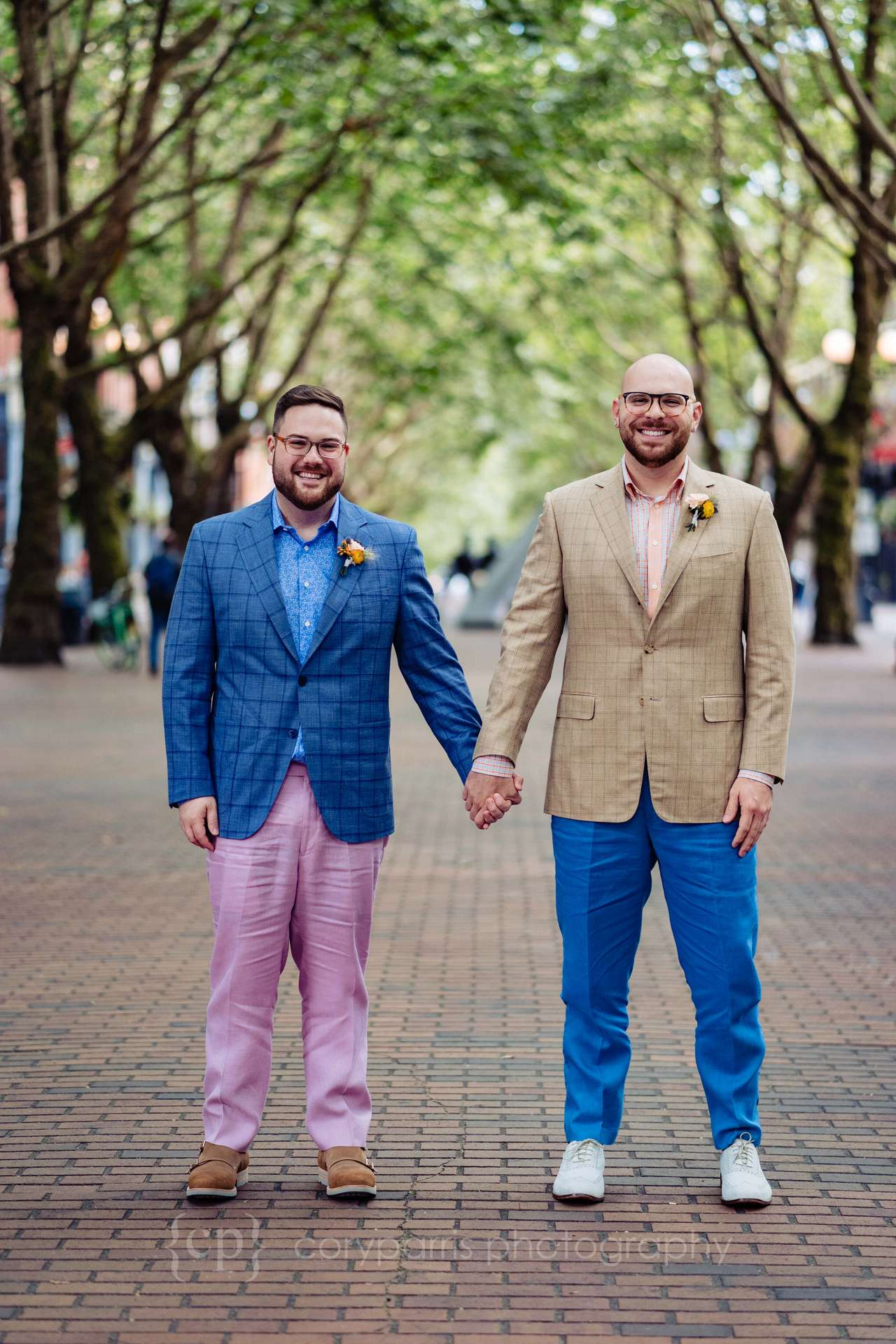 Zack and Jonathan at Occidental Square