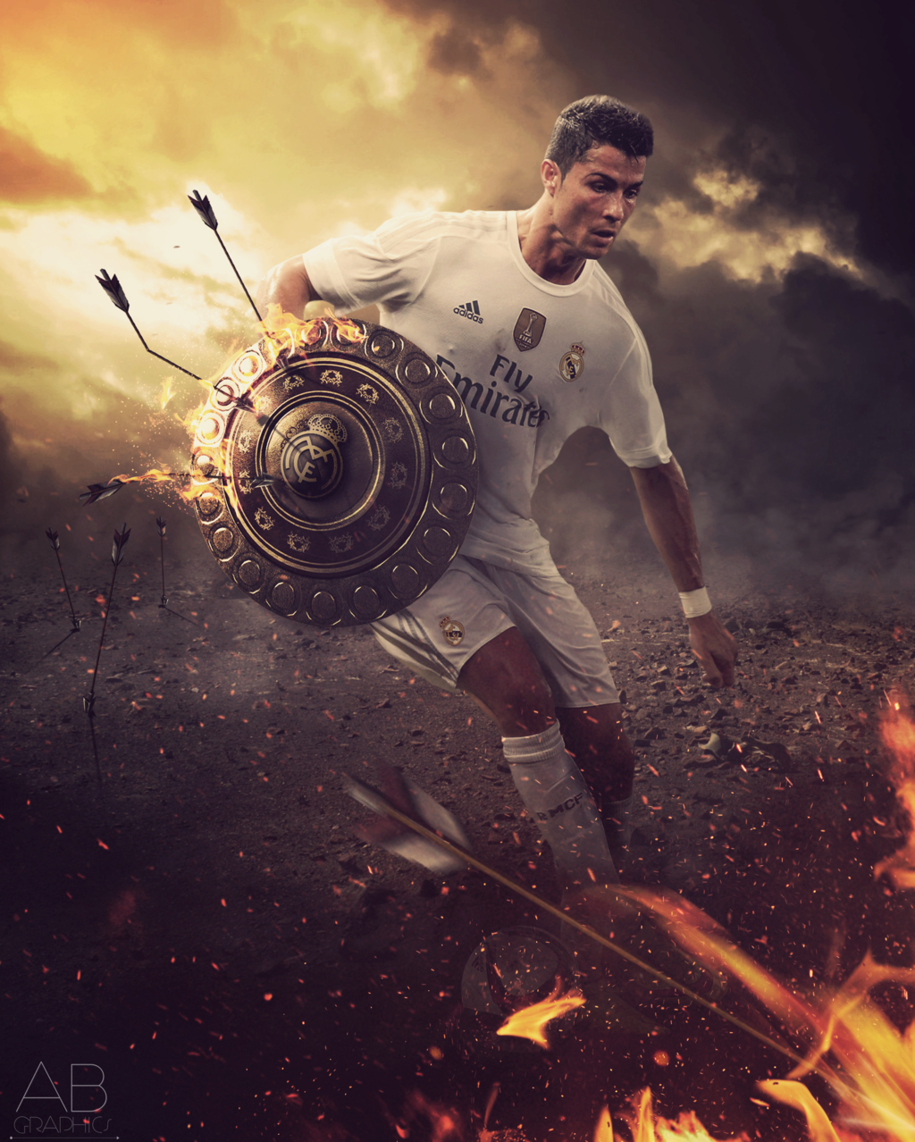 Cristiano Ronaldo - Mars in Aries