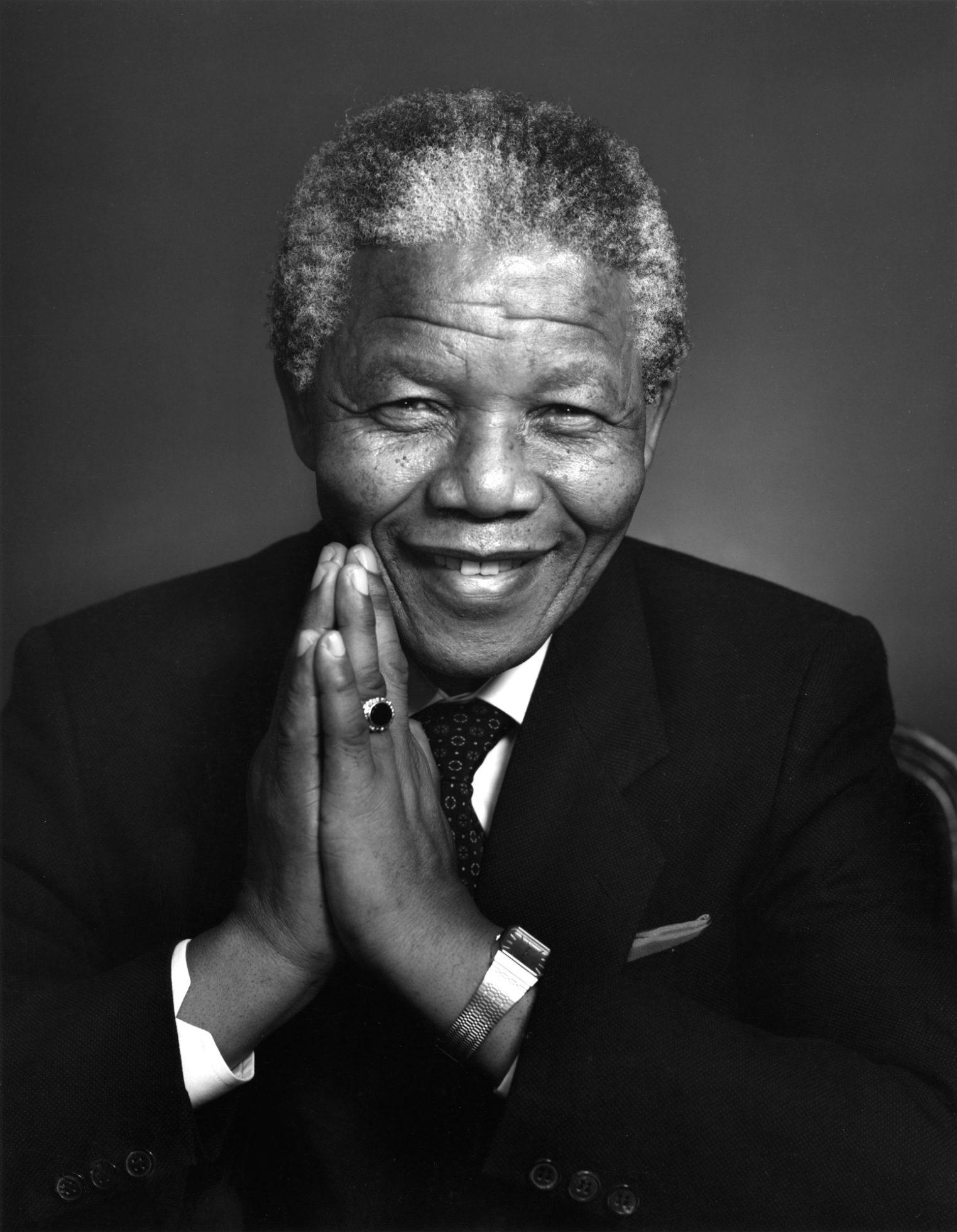 Nelson Mandela - Mercury in Leo