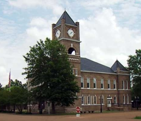 Sumner Courthouse, photo by Walt Grayson, WLBT-TV, Jackson
