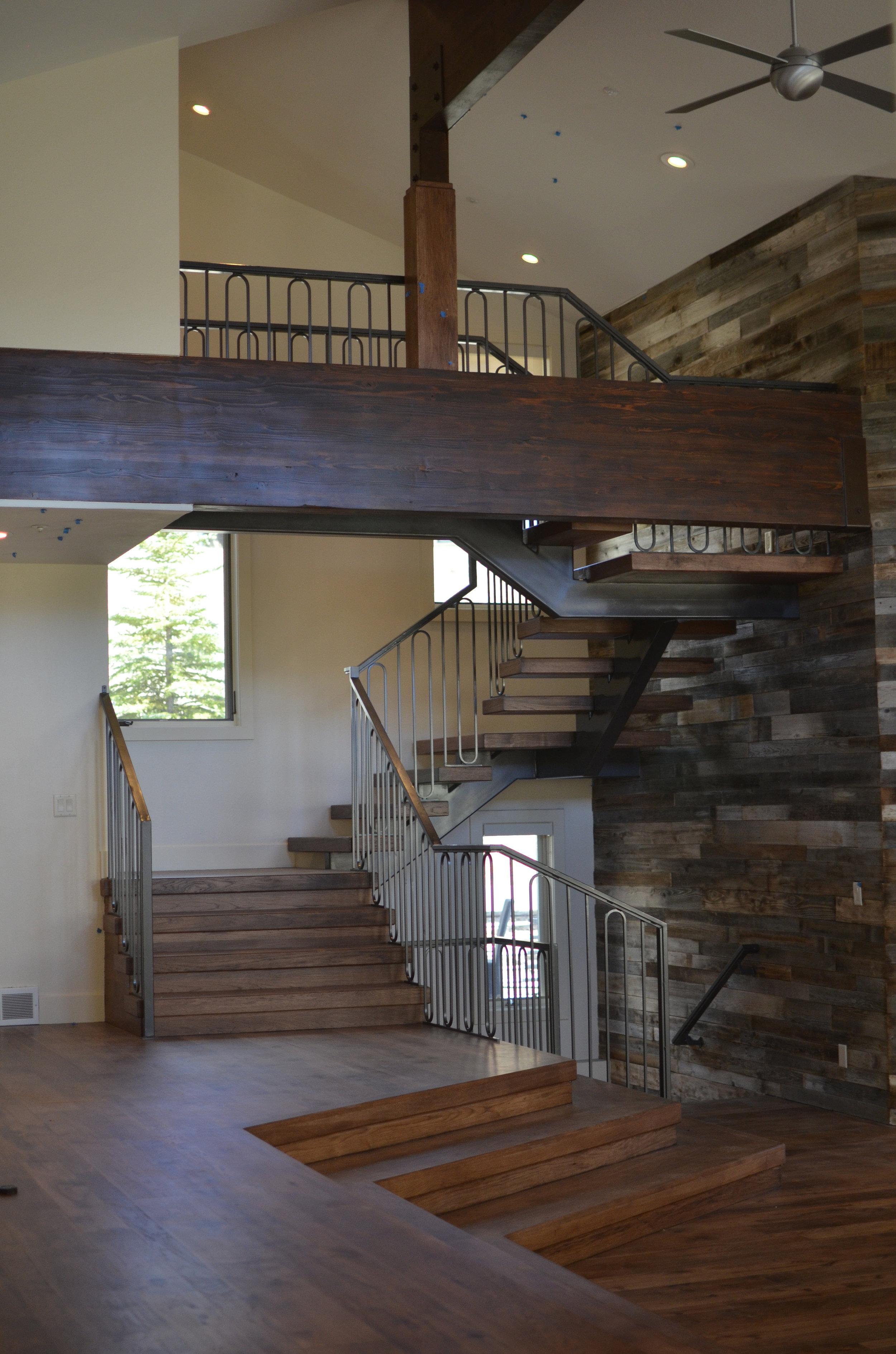 Freestanding Single Stringer Hickory Staircase.jpg