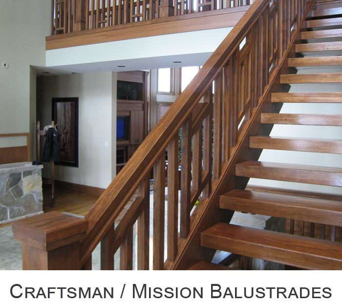 Craftsman / Mission Balustrades