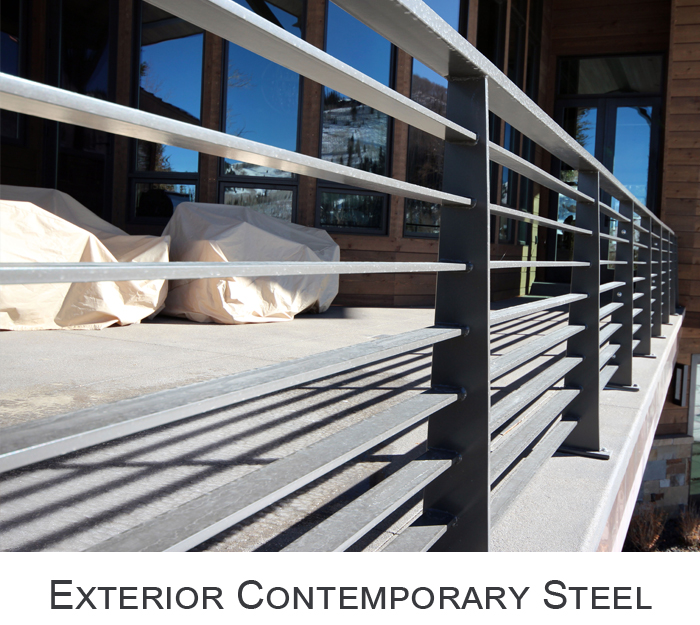 Exterior Contemporary Steel