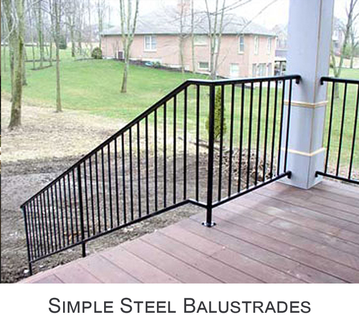 Simple Iron Balustrades