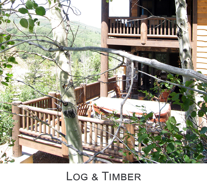 Exterior Log and Timber