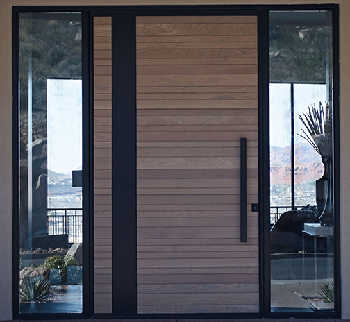 Craftsman pivot door with side light.jpg