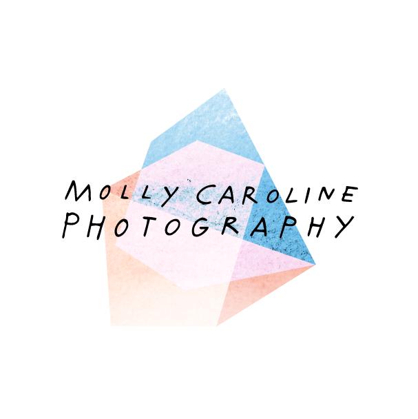 Final logo design for Molly Caroline Photography.