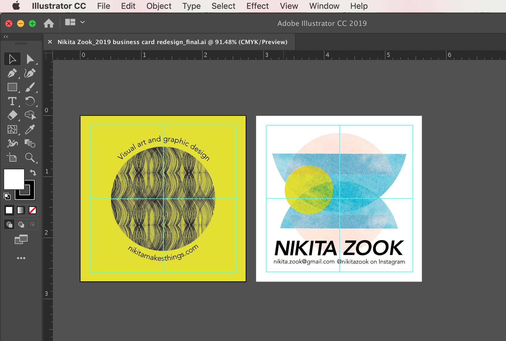 I edit and design using Adobe Illustrator.