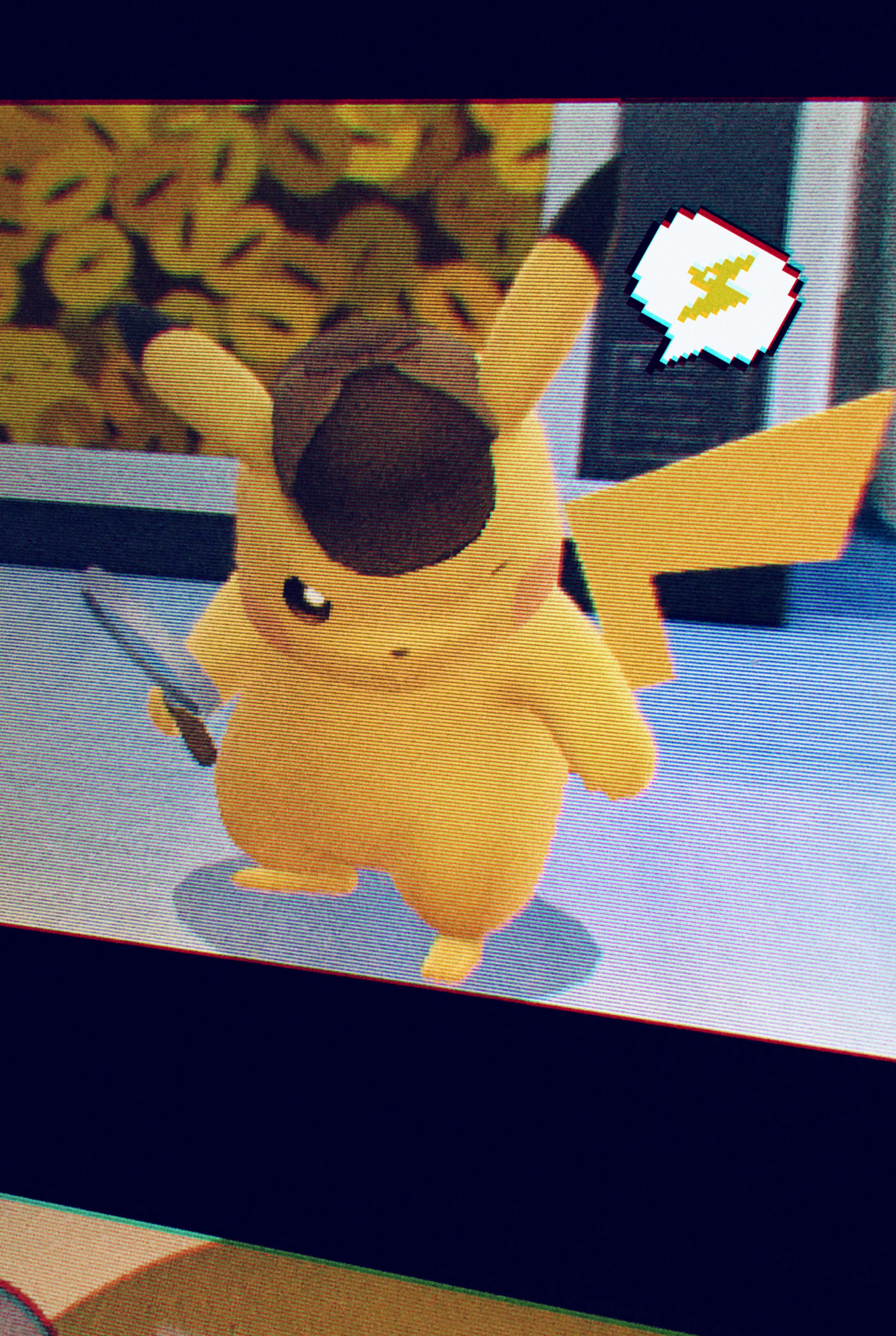 I'm Har…I mean Pikachu…a world-class detective