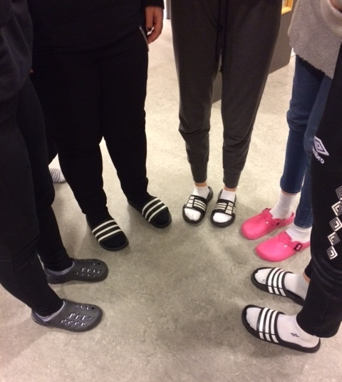 School shoes!