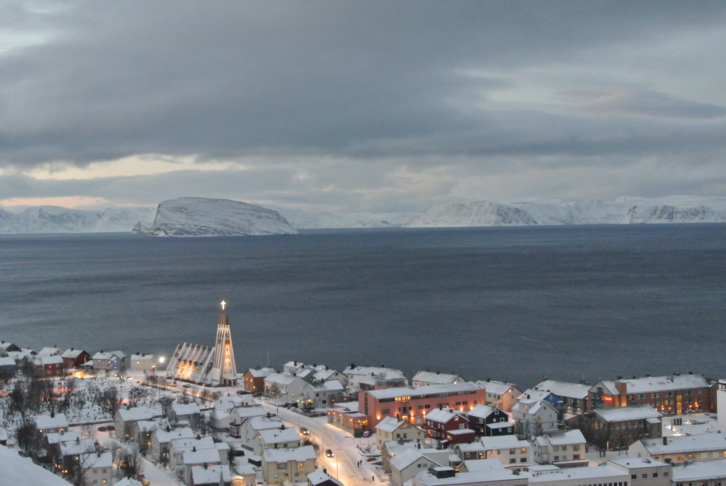 A weekend in Hammerfest, the northernmost city in the world.