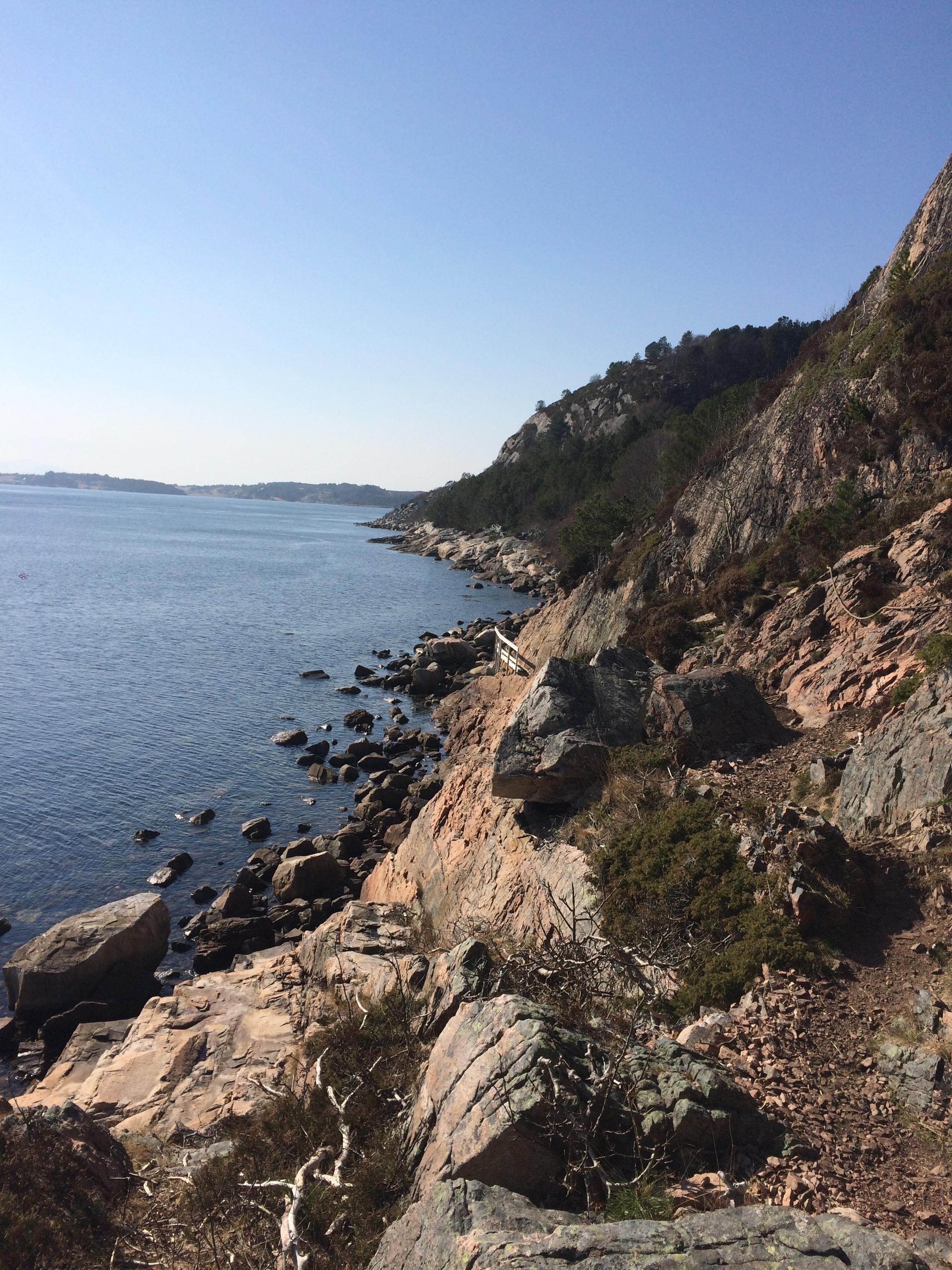 An afternoon trail run in Kristiansund.