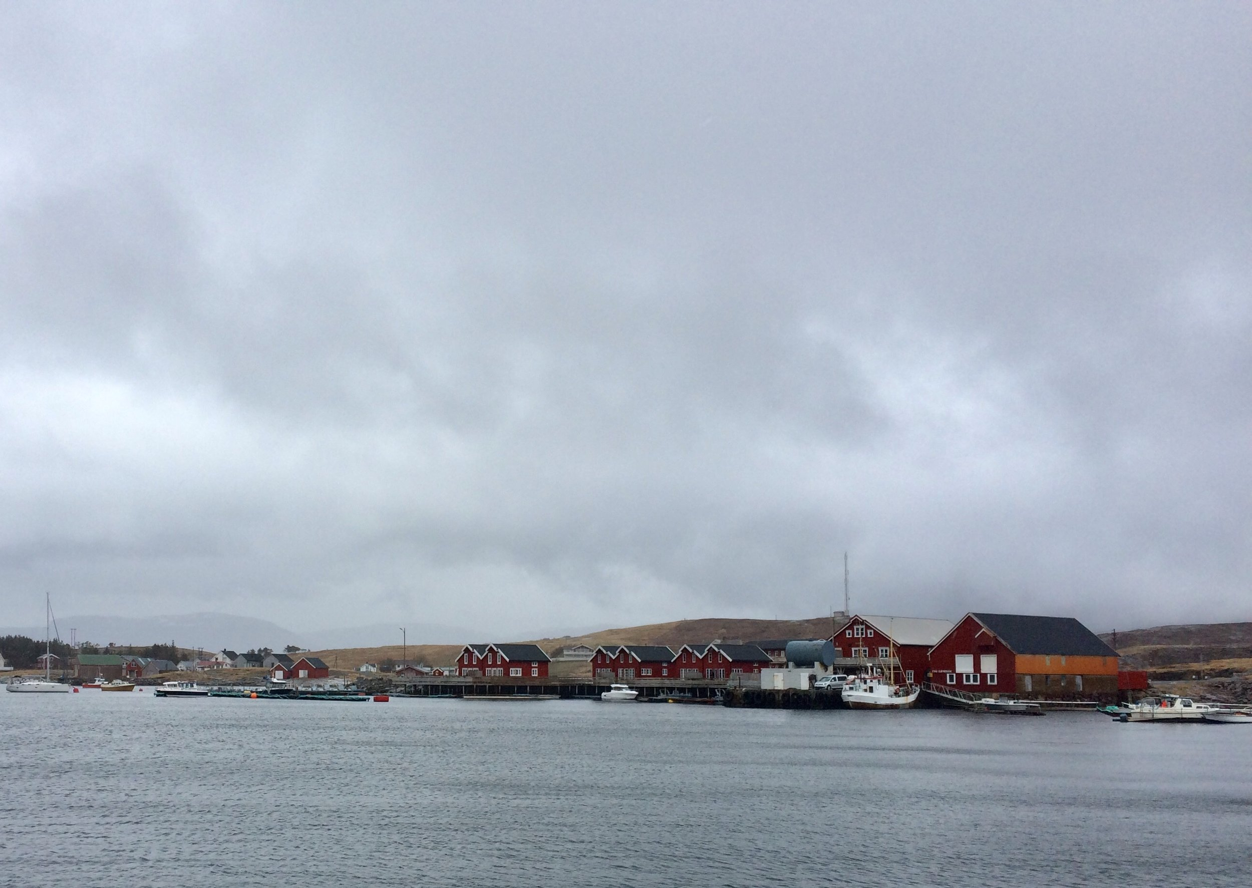 Seter, from the ferry. I stayed at one of these fishing cabins on the pier for the night!