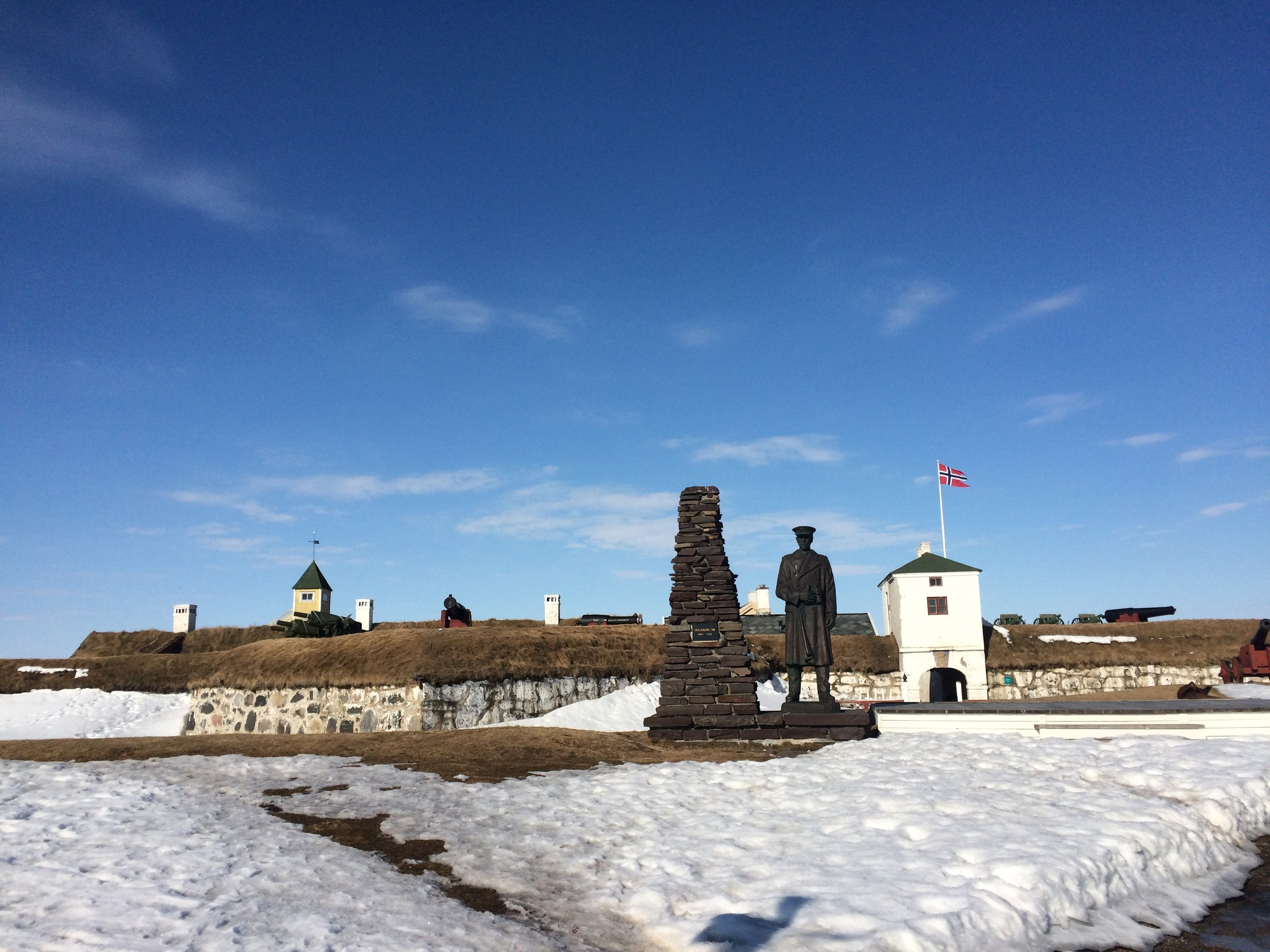 The northernmost fortress in the world!