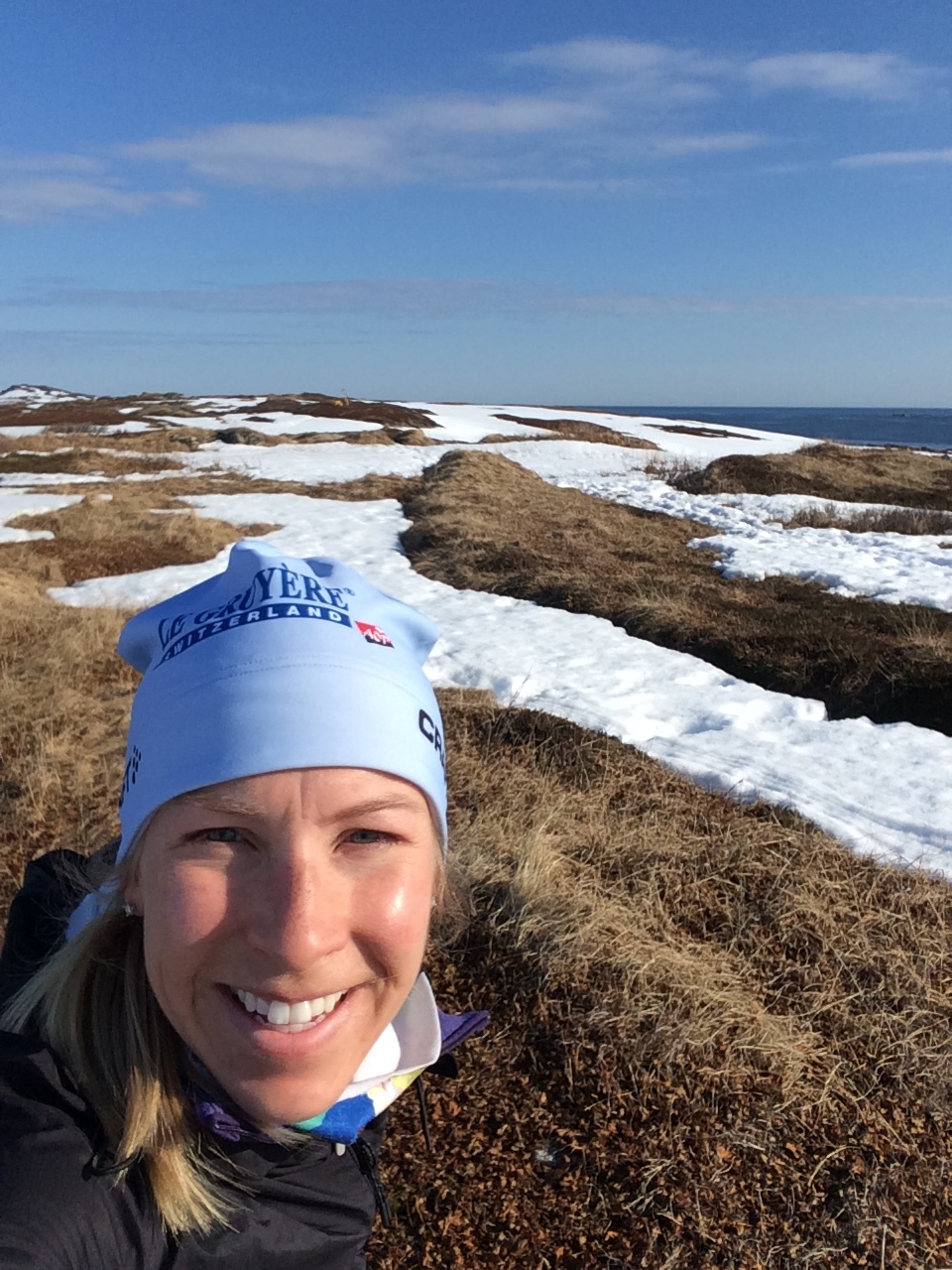 Running on the tundra at 31°E longitude, with over 20 hours of sunlight!