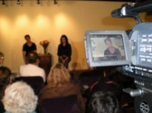 """Nov. 2009's Listen Speak Hear Event """"There's Got to be More to Life Than This"""""""