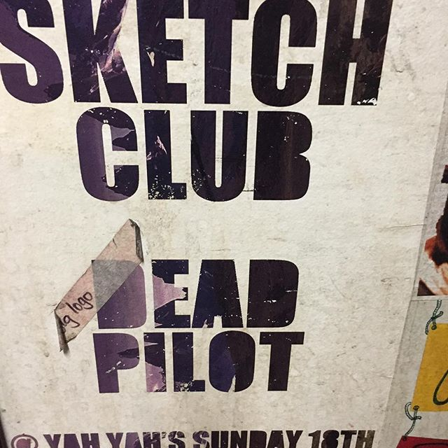 Flashback Friday: this poster was recently spotted behind the toilet door at Yah Yah's...from a gig we did a few years back. Honoured 🚽👌🏼