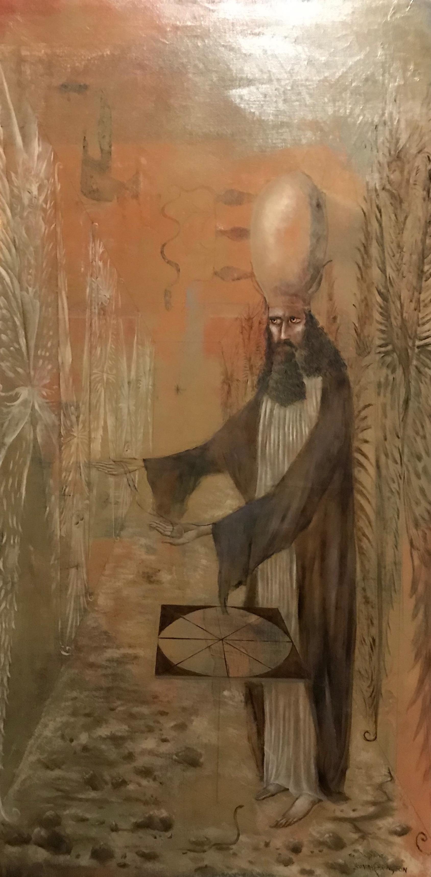 Hiérophante (Pour Dauphine), 1958 oil on canvas.