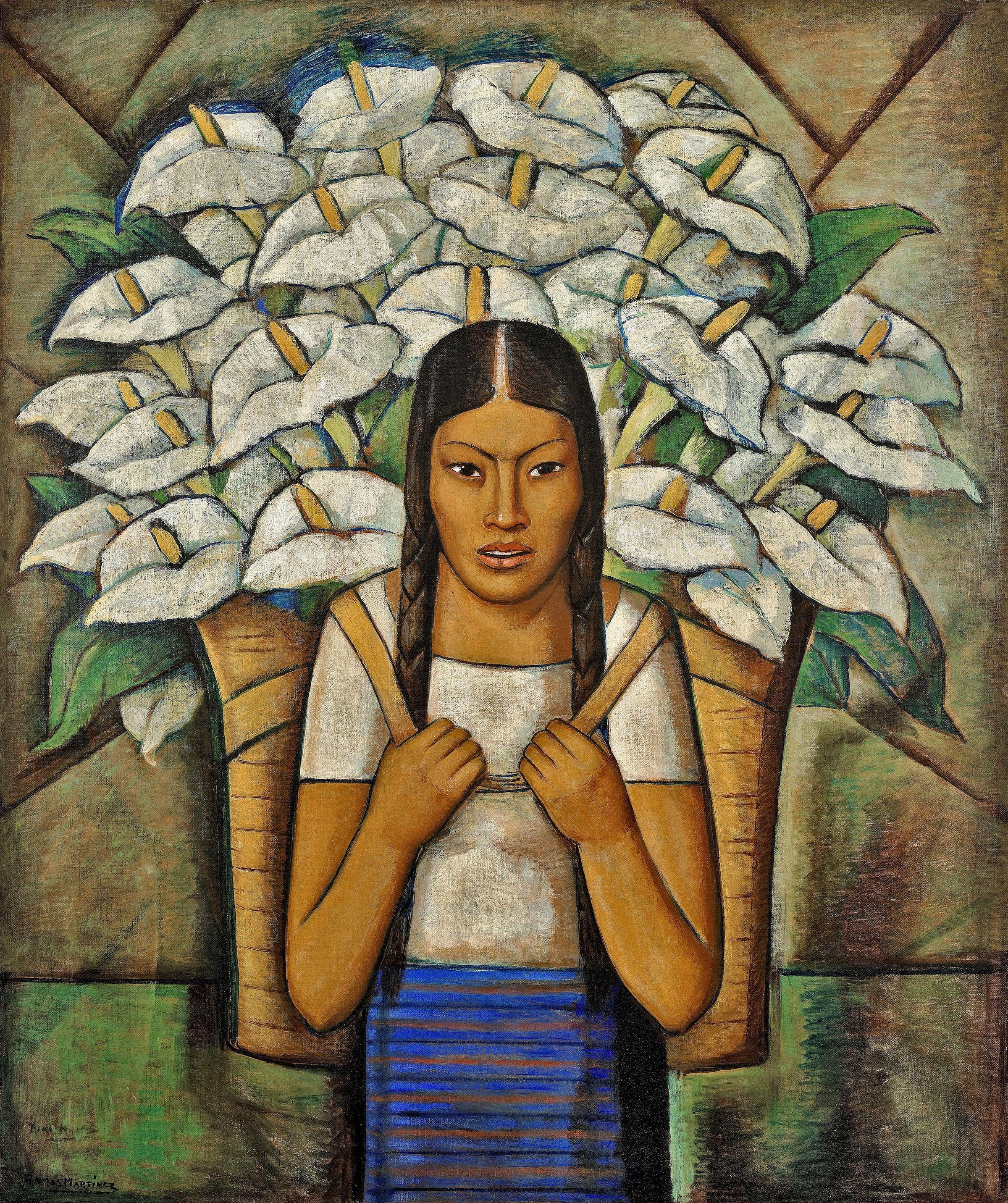 Alfred Ramos Martinez at Whitney Museum of Art New York
