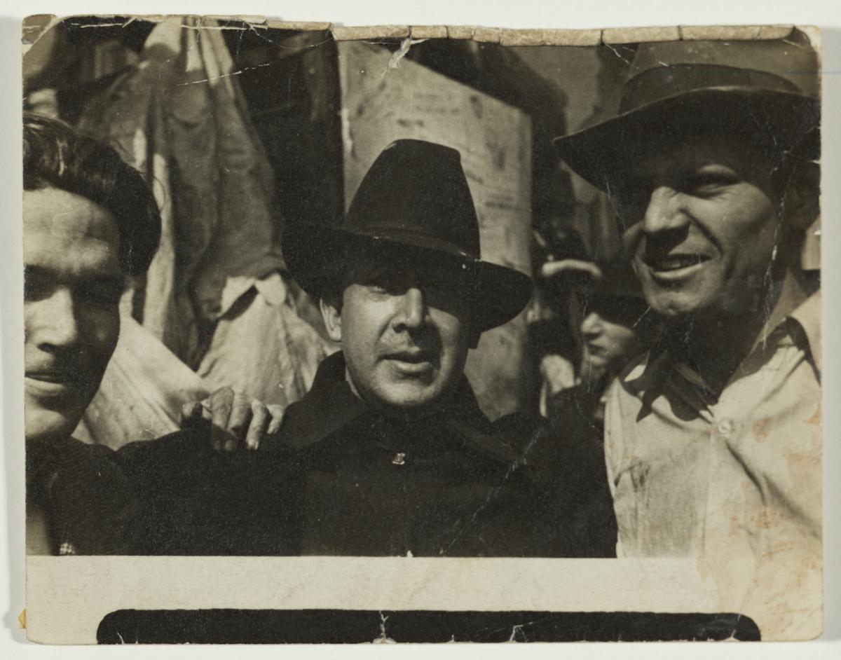 David Alfaro Siqueiros and Jackson Pollock.
