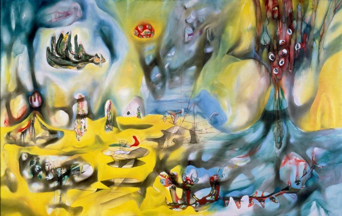 Roberto Matta - Invasion of the Night (1942), courtesy of San Francisco MoMA