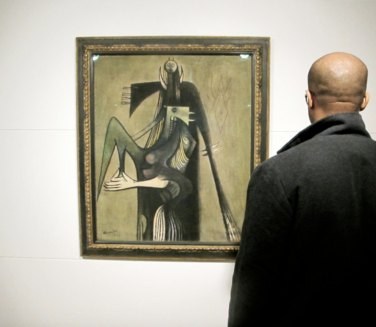 Un Coq pour Chango by Wilfredo Lam, courtesy of San Francisco MoMA