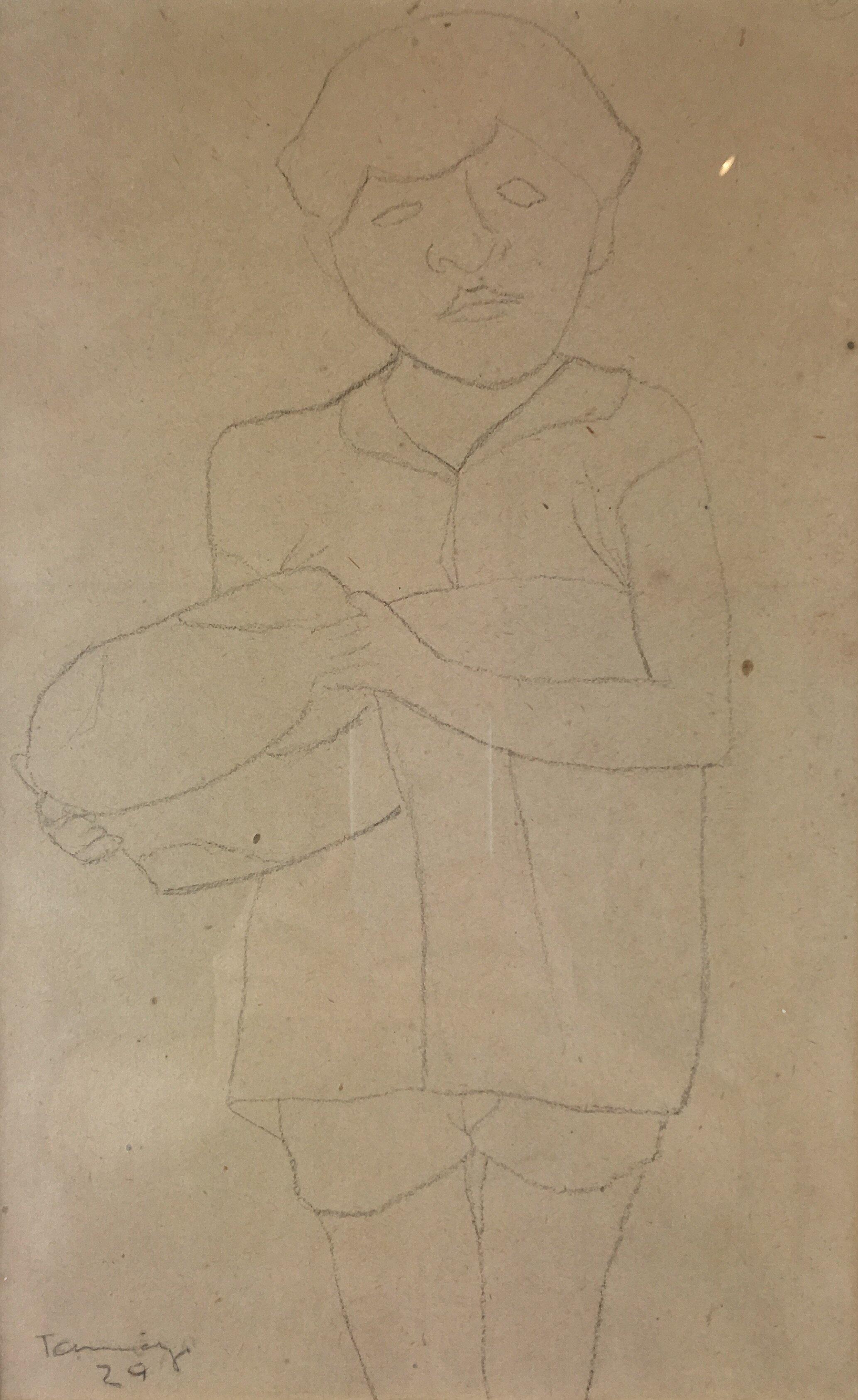 Rufino Tamayo drawing