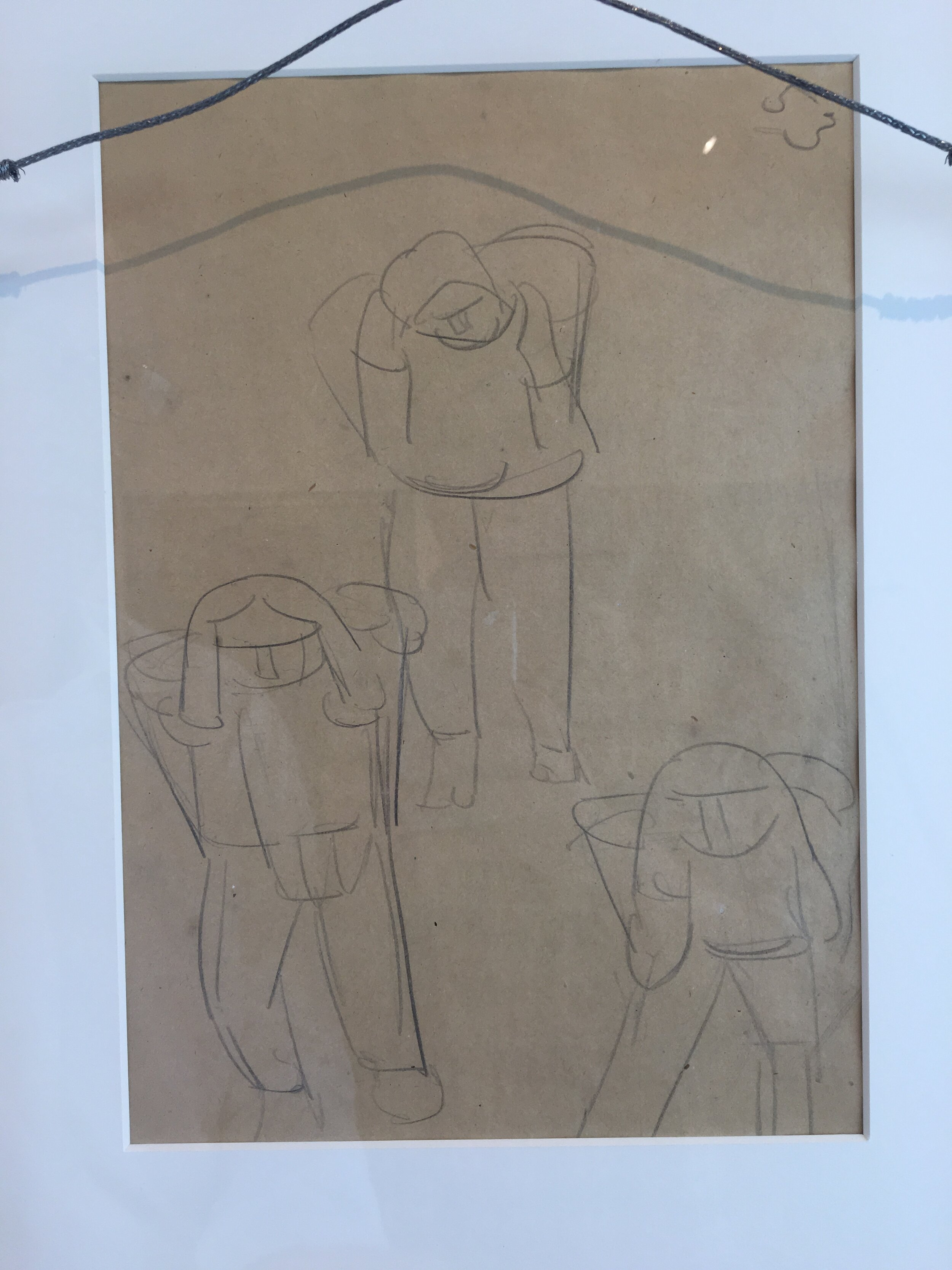 Rufino Tamayo drawing - Magave Pickers