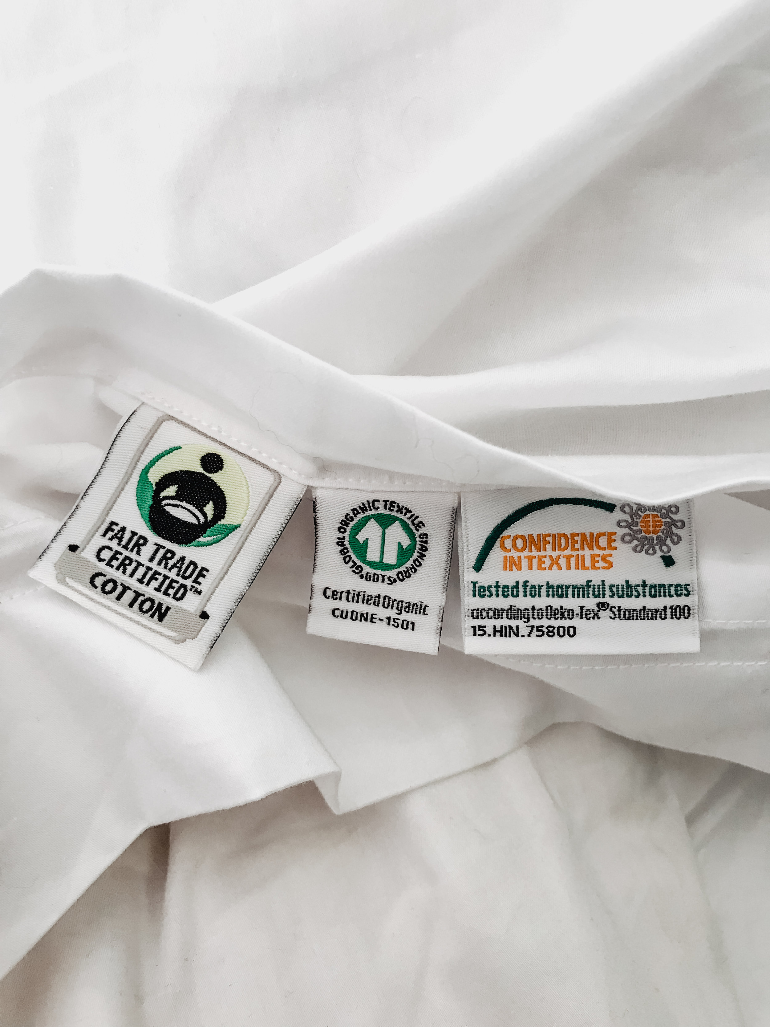 SOL uses 100% organic cotton grown from non-GMO seed. They are committed to supporting better farming practices that reduce carbon footprint, converse and protect drinking water, and keep us and our communities safe.