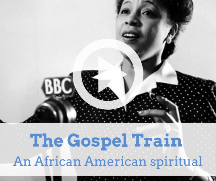 Gospel Train An African American spiritual.png