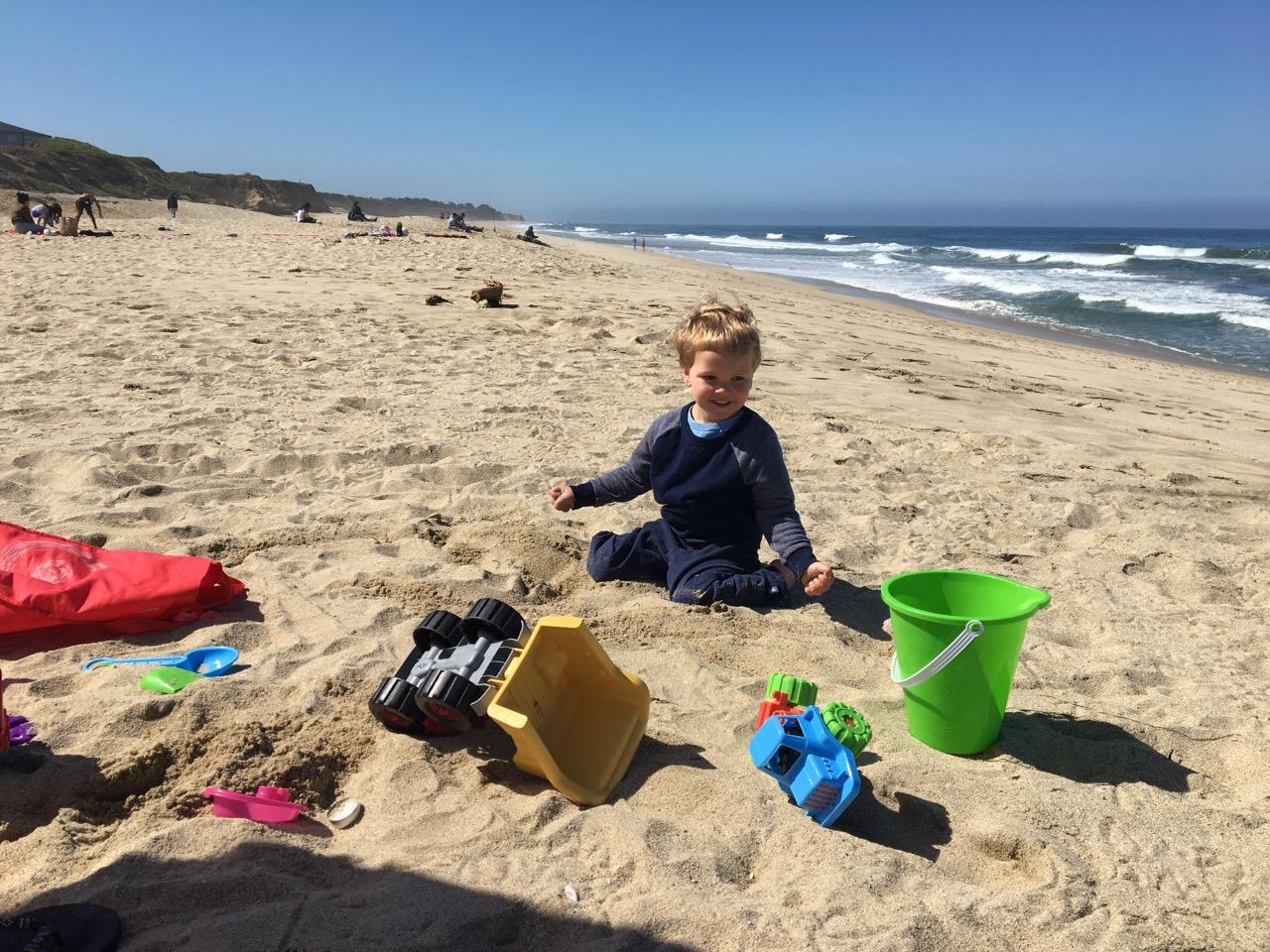 Beach day (June)