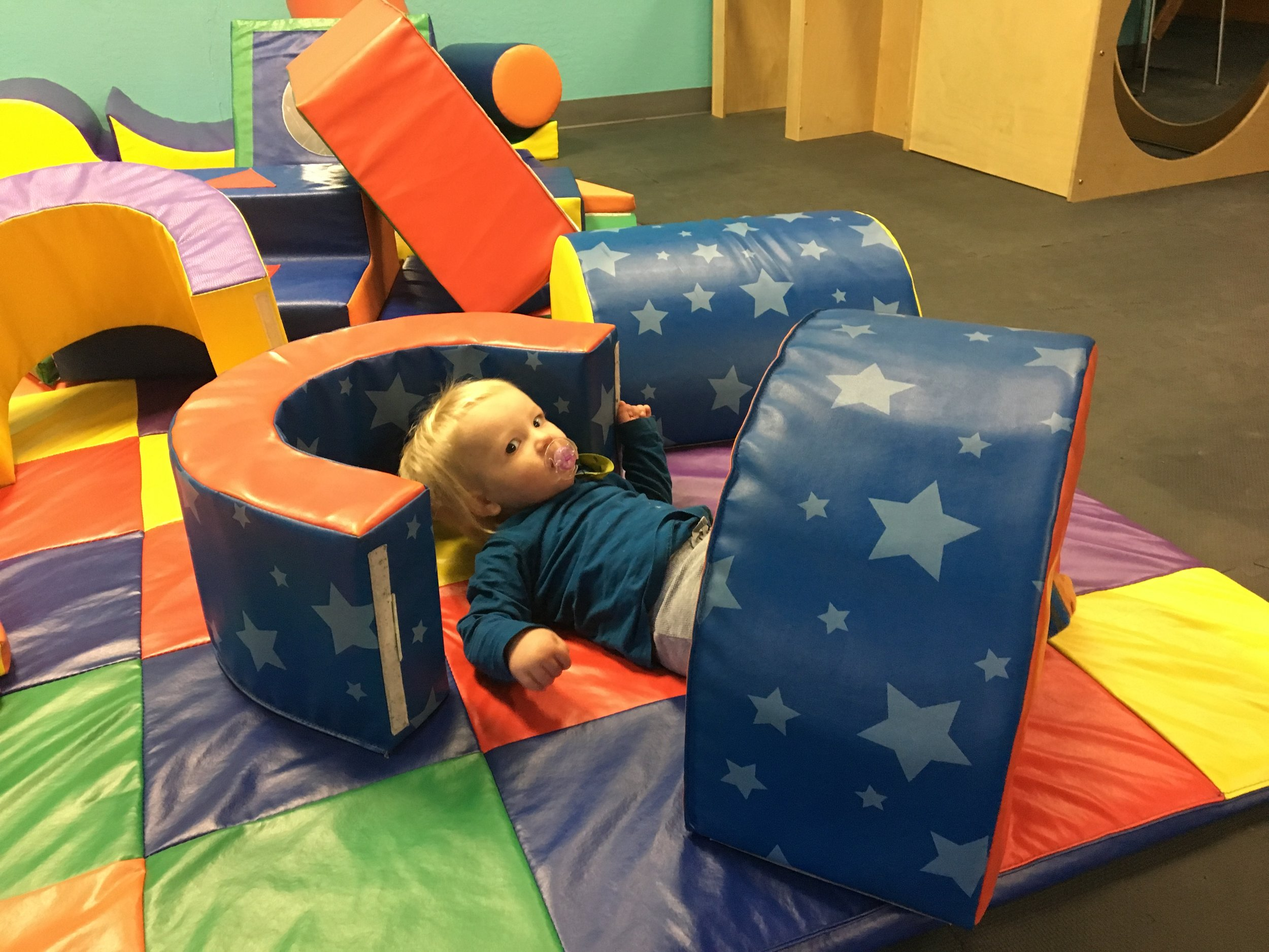Finally loving the play place