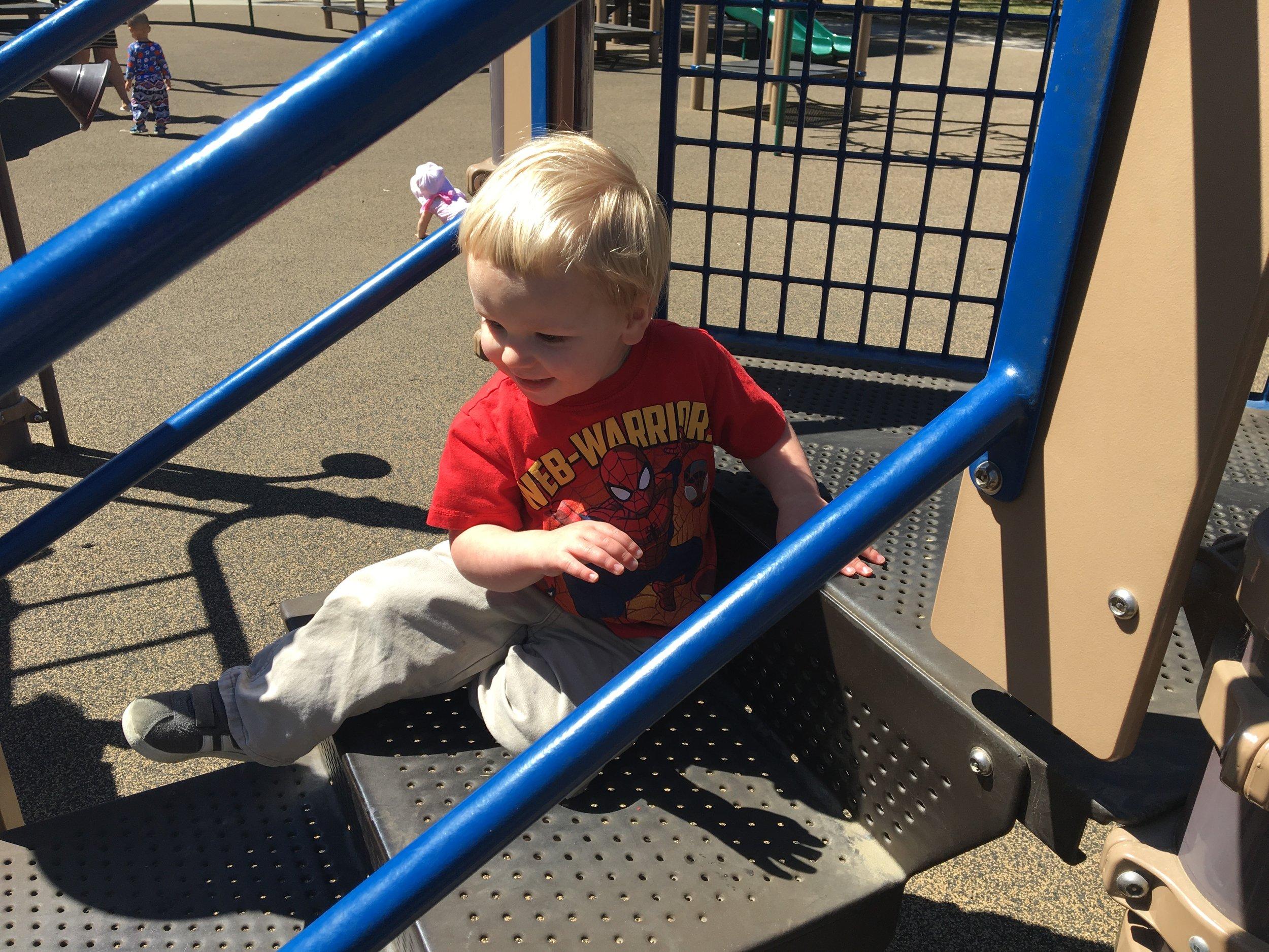 We love park playdates
