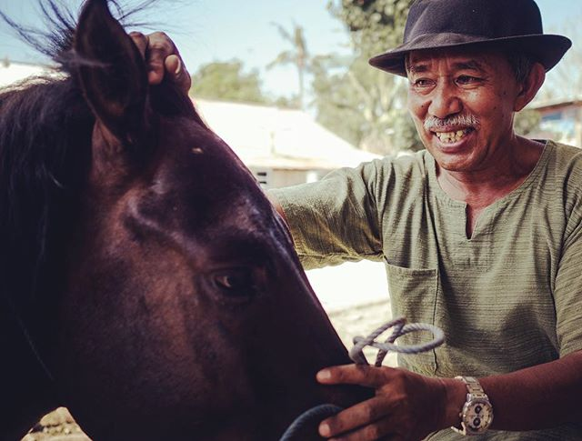 Before last year's devastating earthquake, Gili Trawangan local Bapak owned 2 working ponies and earned his living from a thriving tourism industry. When the tourists stopped coming, he no longer had an income which resulted in him having to make the hard decision to sell one of his horses as he could no longer afford to keep them both 😪  Bapak comes to every Vet & Farrier Clinic to get his pony Sandran checked over and he is eager to learn how best to look after him. Bapak is a good influence for the younger Cidomo drivers on Gili and someone they look up to. It is really heartwarming to see how he clearly cares for his pony and only wants the best for Sandran 💕  We have made it our mission to help these ponies. Join us today and help by clicking on the link in our bio 🙏🙏🙏 #lovehealanimals #giliponies #healinggiliponies #giliponiessanctuary #animalrescue #animalrights #poniesofinstagram #ponies #horses #horsesofinstagram #helpthem #gilitrawangan #workinganimals