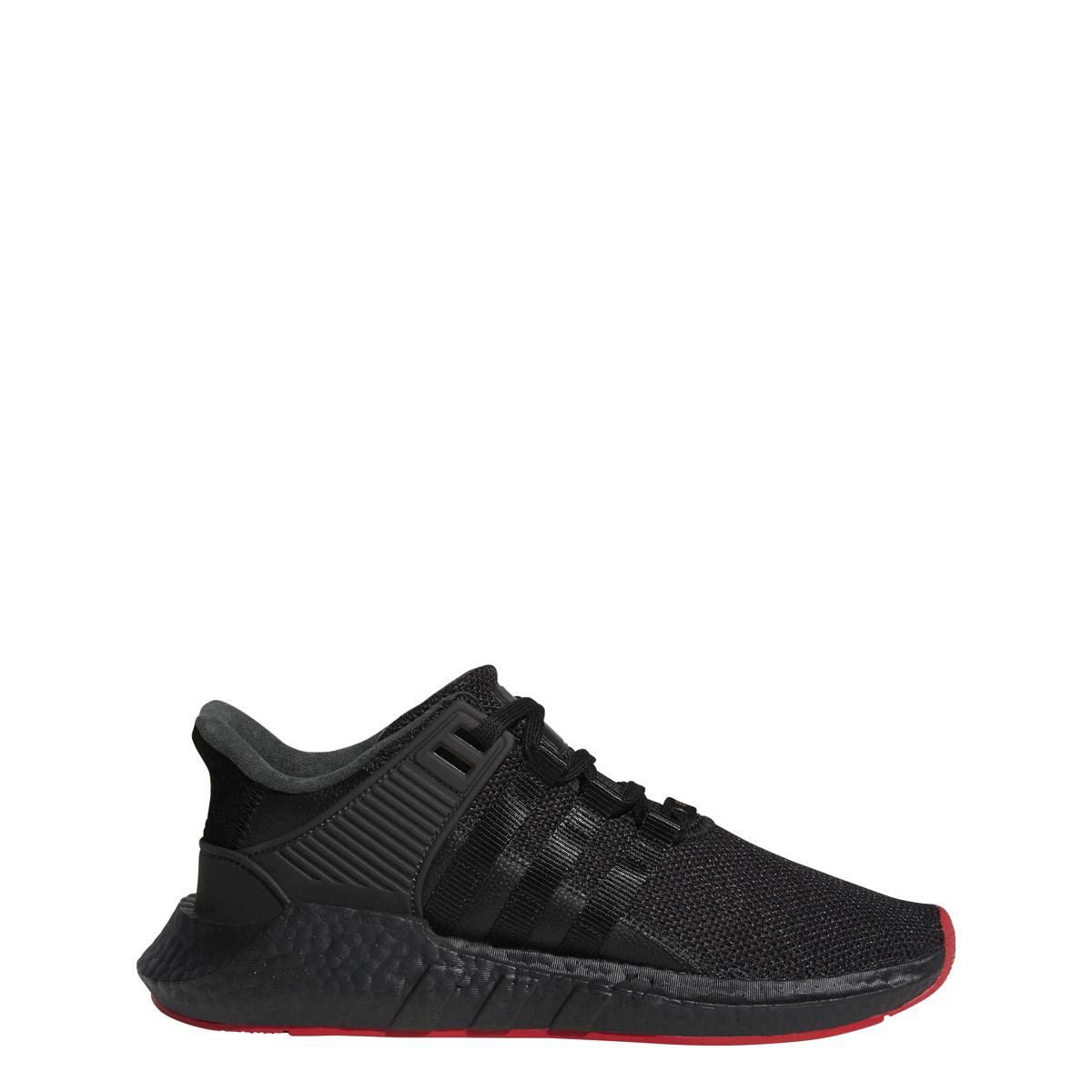 Adidas EQT Support 93/17 in Black/Black
