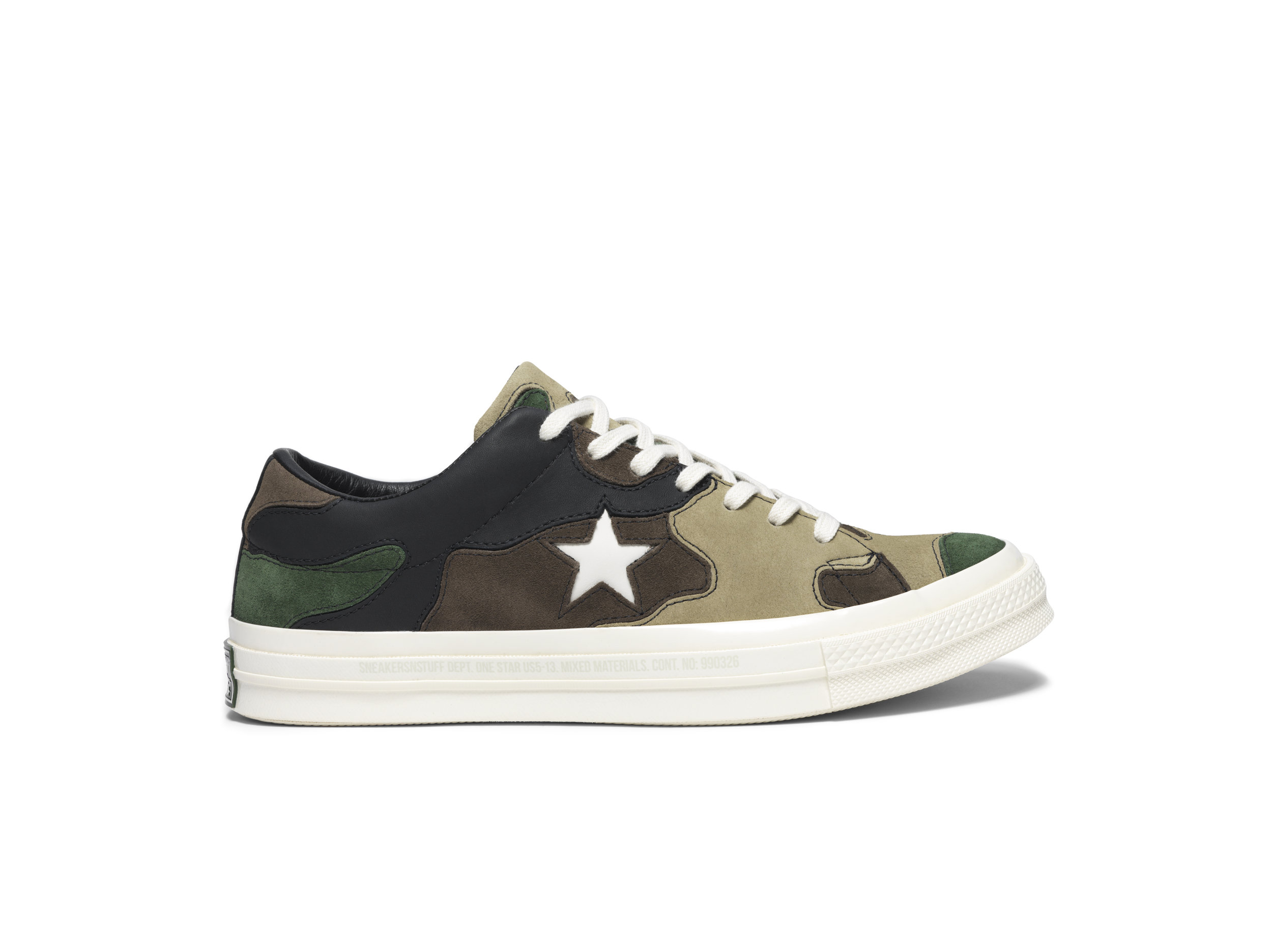 Converse x Sneakersnstuff One Star Ox in Camo — MAJOR