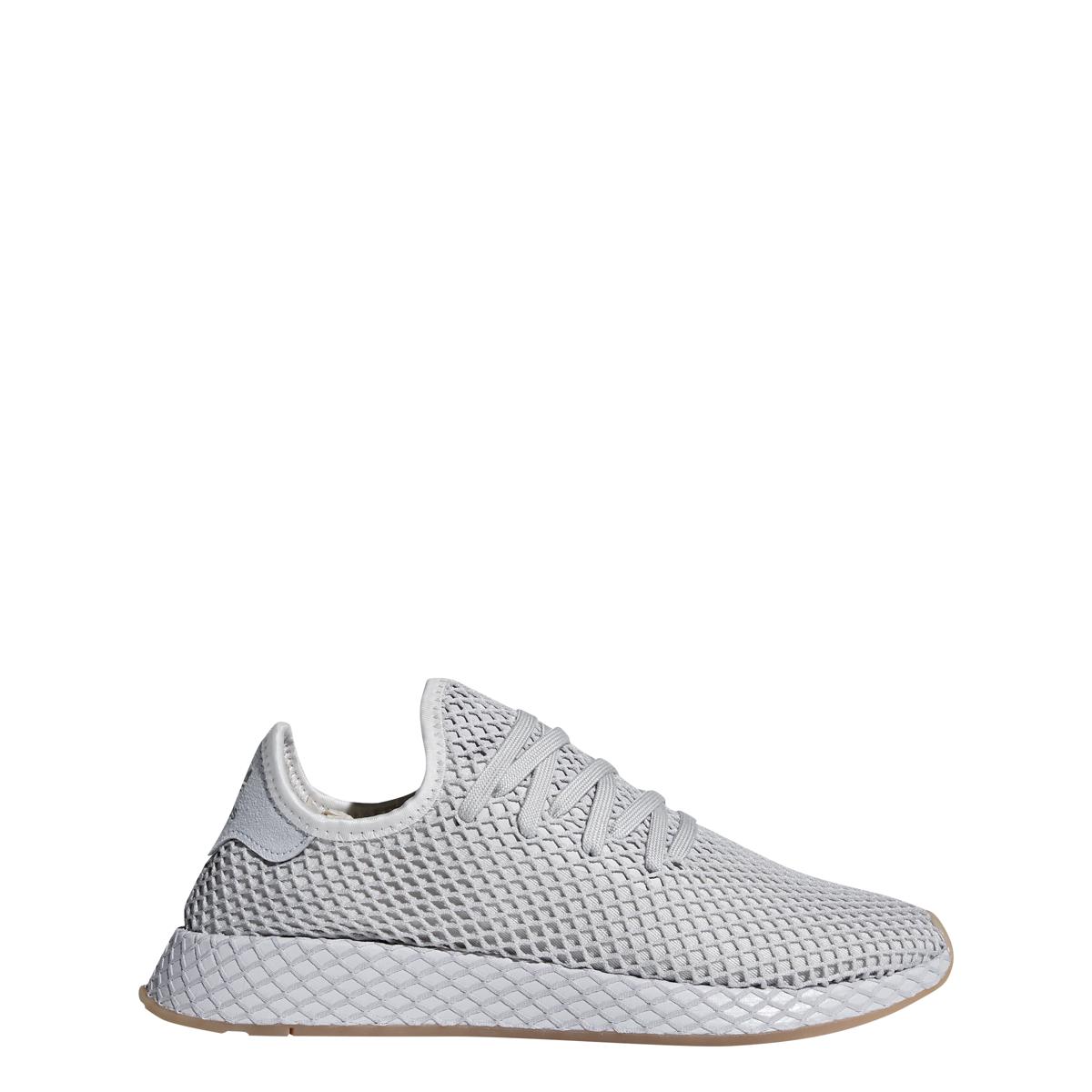 Adidas Deerupt in Light Grey/Gum — MAJOR