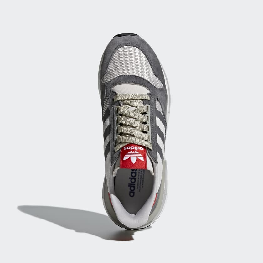 Adidas ZX 500 RM in Grey/White/Scarlet — MAJOR