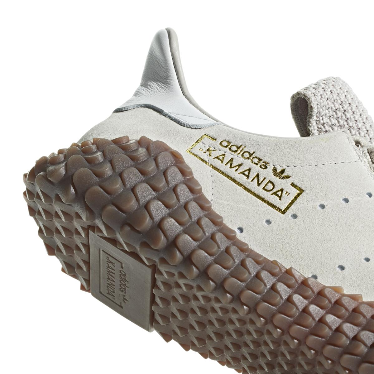 Adidas Kamanda 01 in Clear Brown (Cream