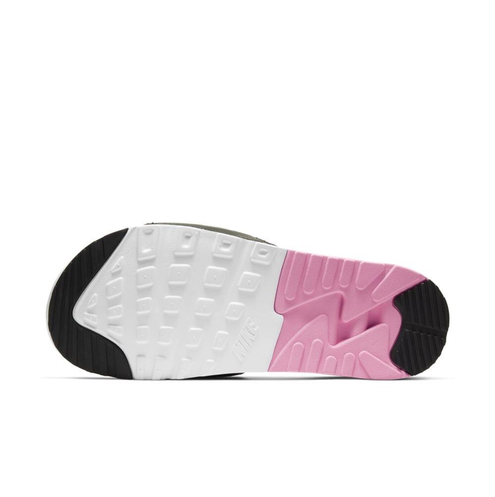 Nike Women's Air Max 90 Slide in Rose/Grey — MAJOR