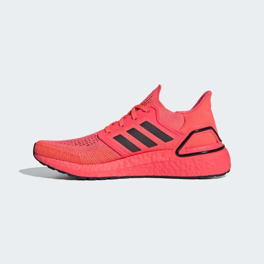 Adidas UltraBoost 20 in Signal Pink — MAJOR